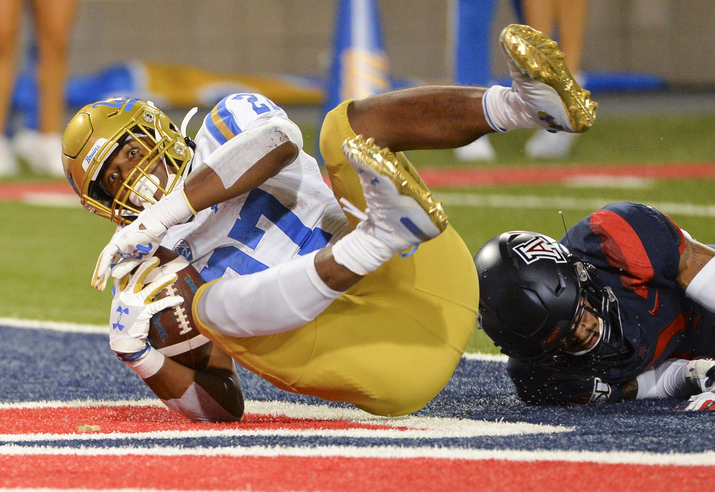 NCAA Football: UCLA at Arizona