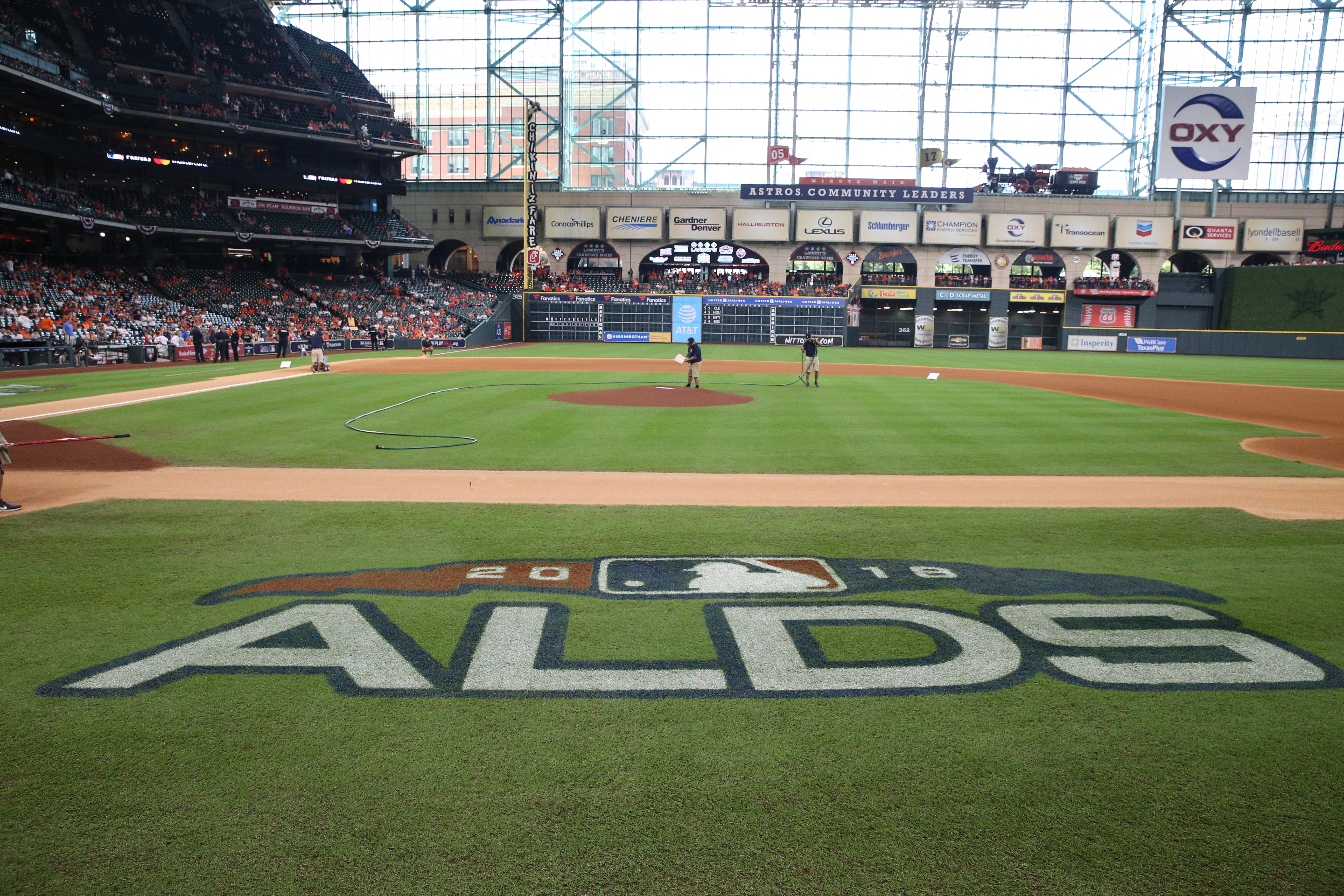 American League Division Series Game 2: Cleveland Indians v. Houston Astros