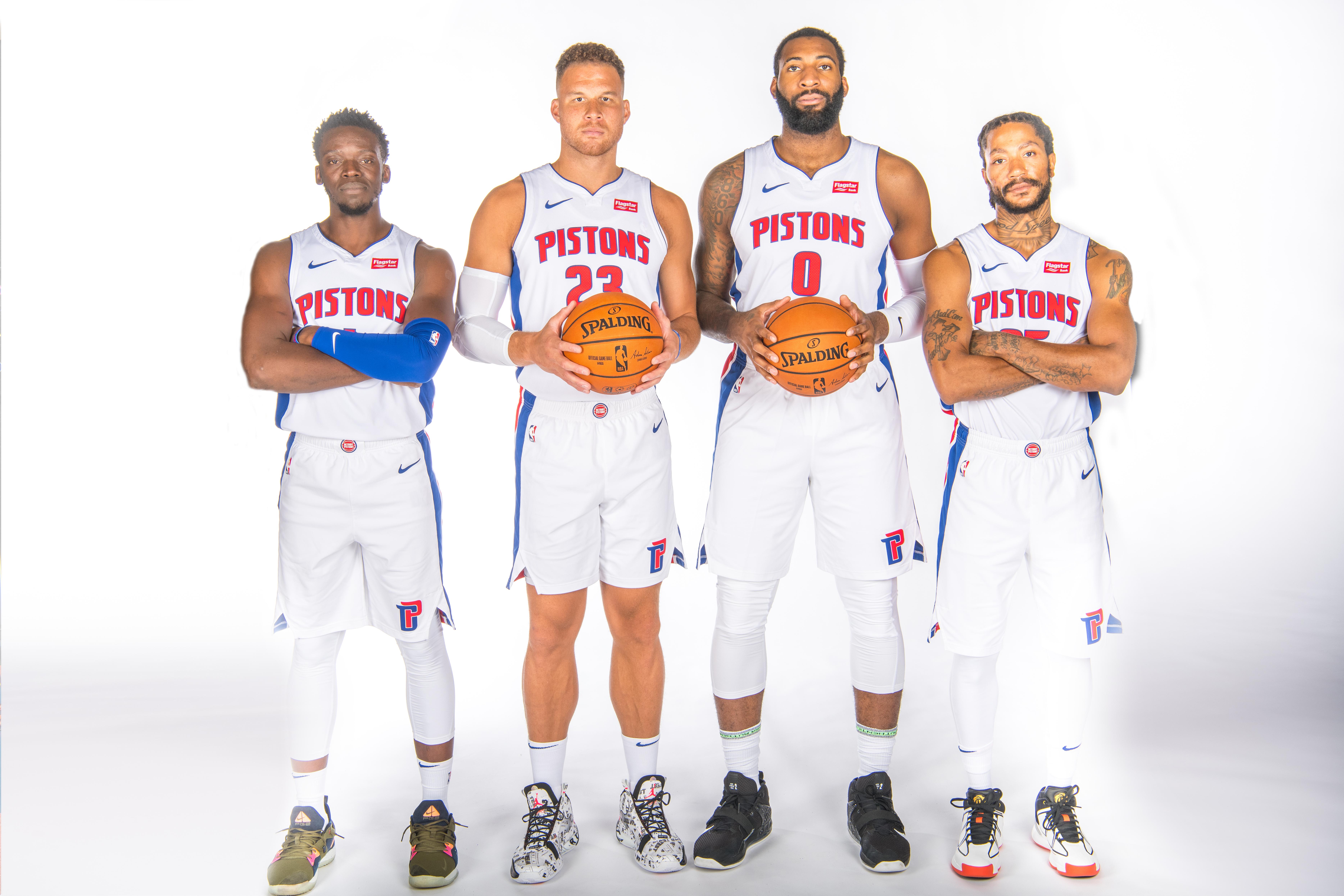 2019-20 Detroit Pistons Media Day