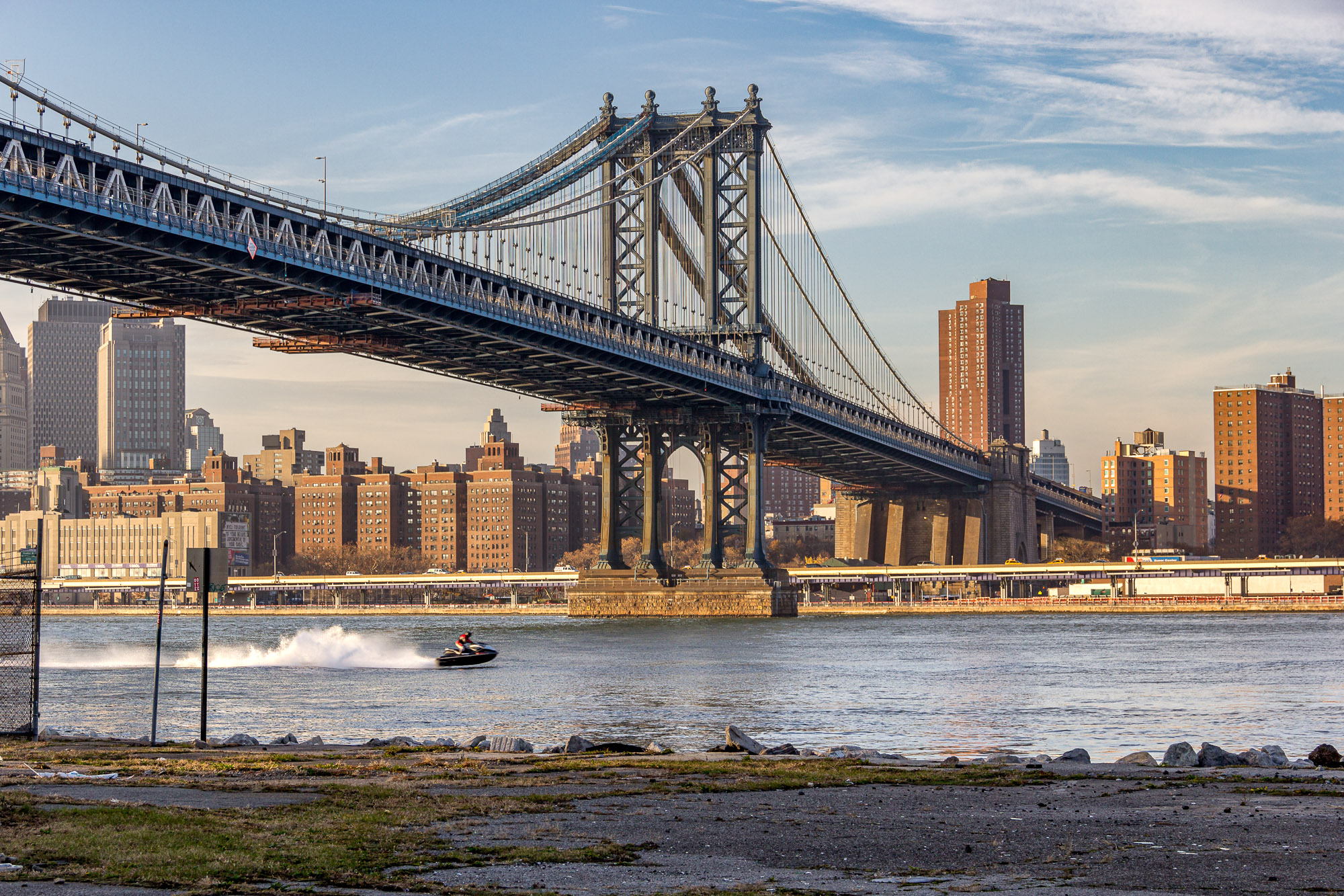 Two Bridges flood protections will raise East River esplanade up to two feet