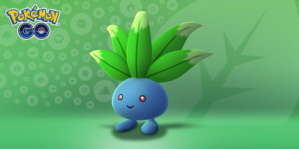 Shiny Oddish joins Pokémon Go for Safari Zone event