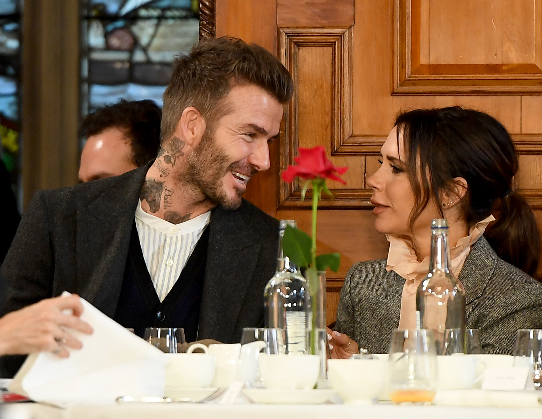 Victoria and David Beckham Know Where to Find London's Best Sushi