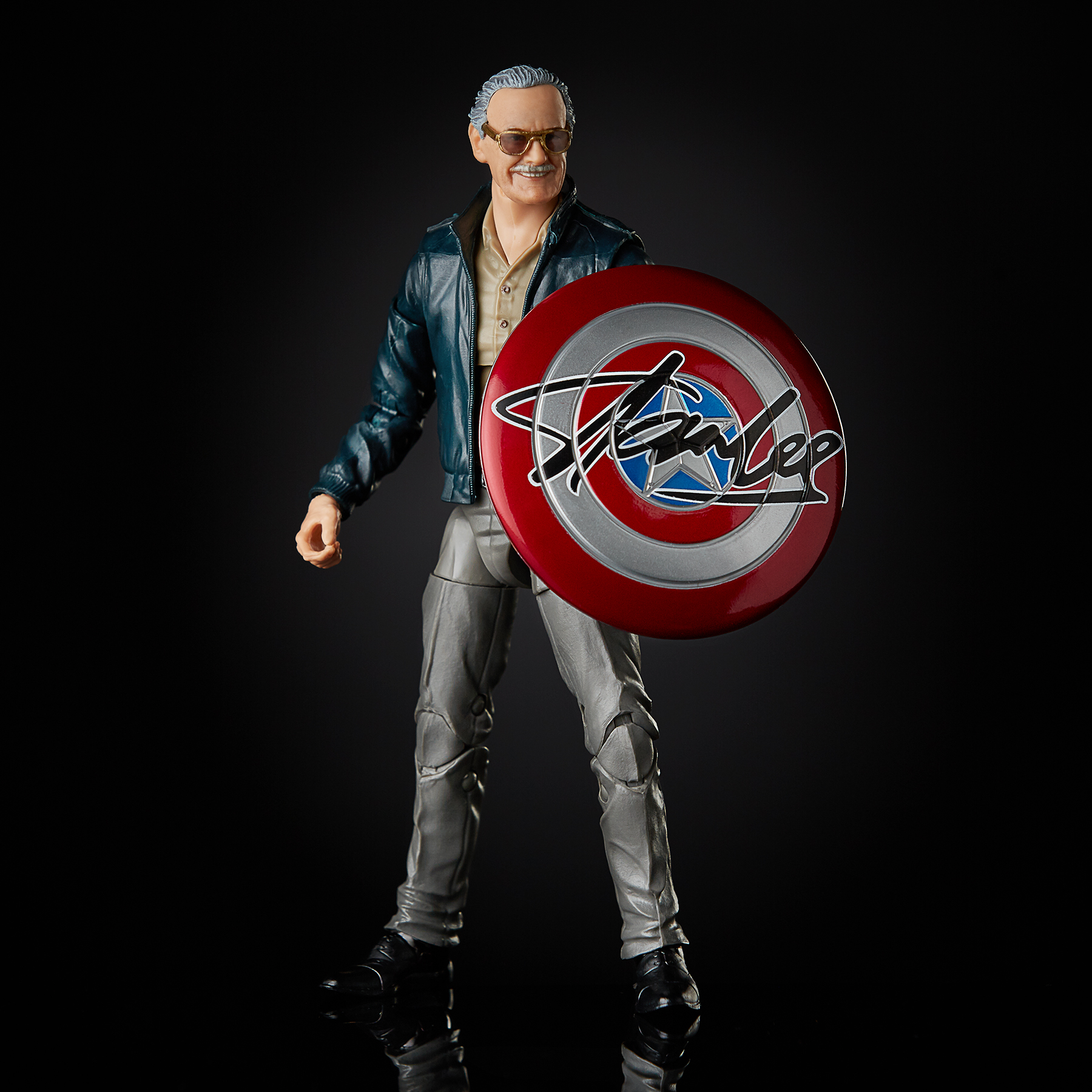 Stan Lee immortalized in new 6-inch Marvel Legends action figure