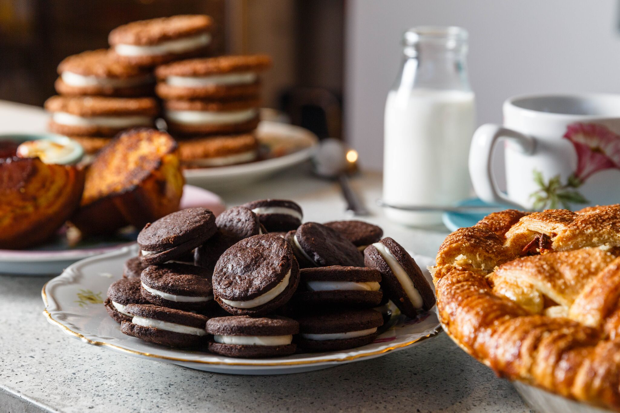 Pastries at Gertie