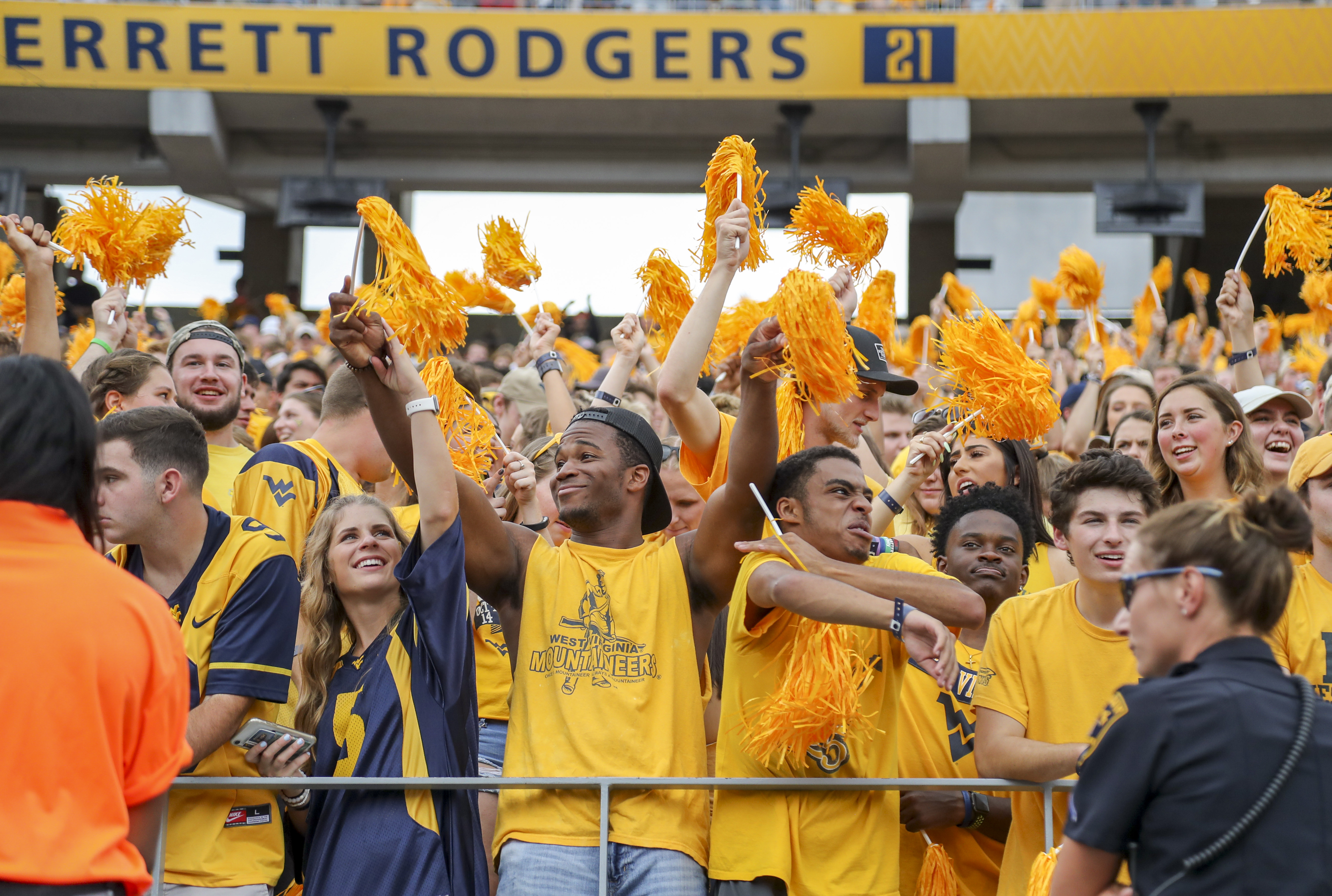 NCAA Football: North Carolina State at West Virginia