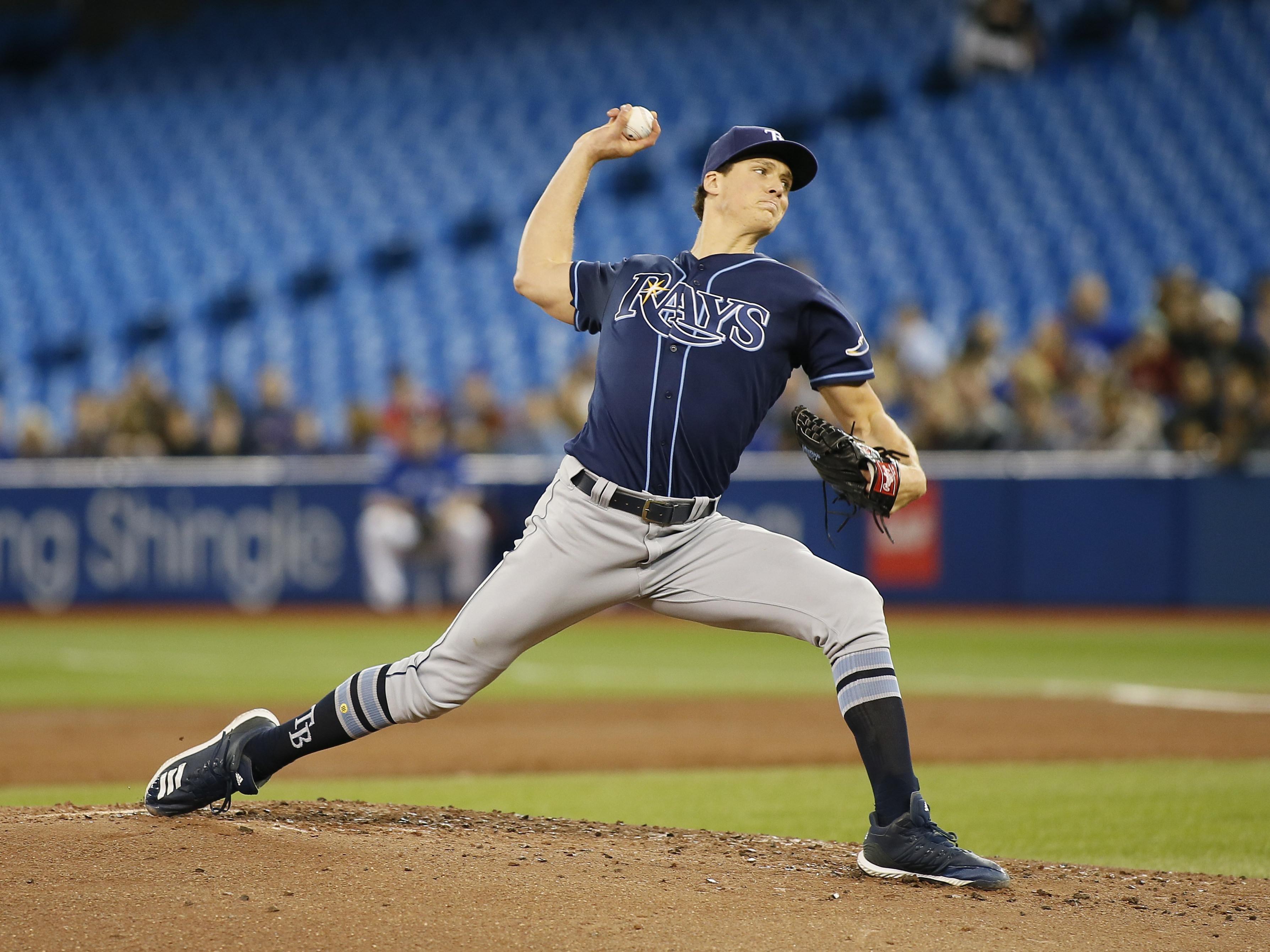 MLB: Tampa Bay Rays at Toronto Blue Jays