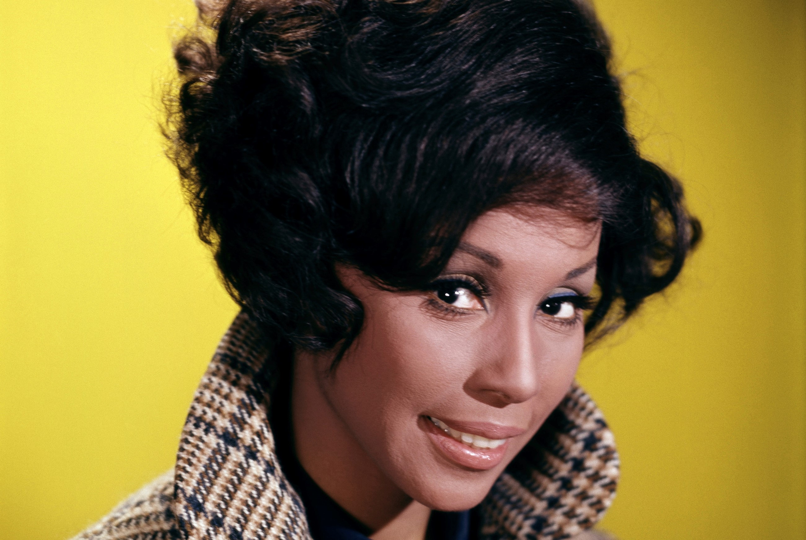 SInger-actress Diahann Carroll is pictured in 1972.