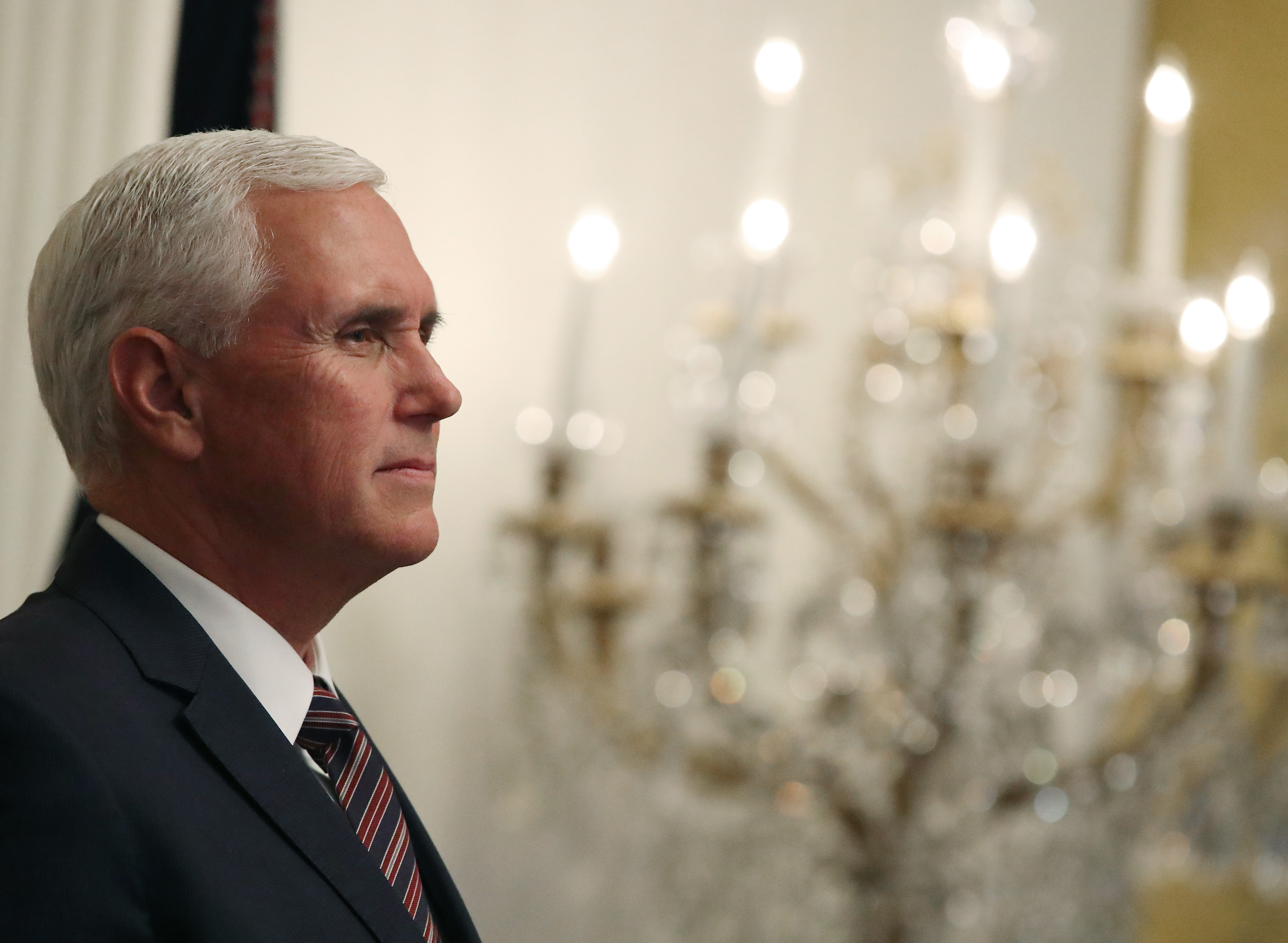 Mike Pence's stunning hypocrisy on foreign election interference, in one quote