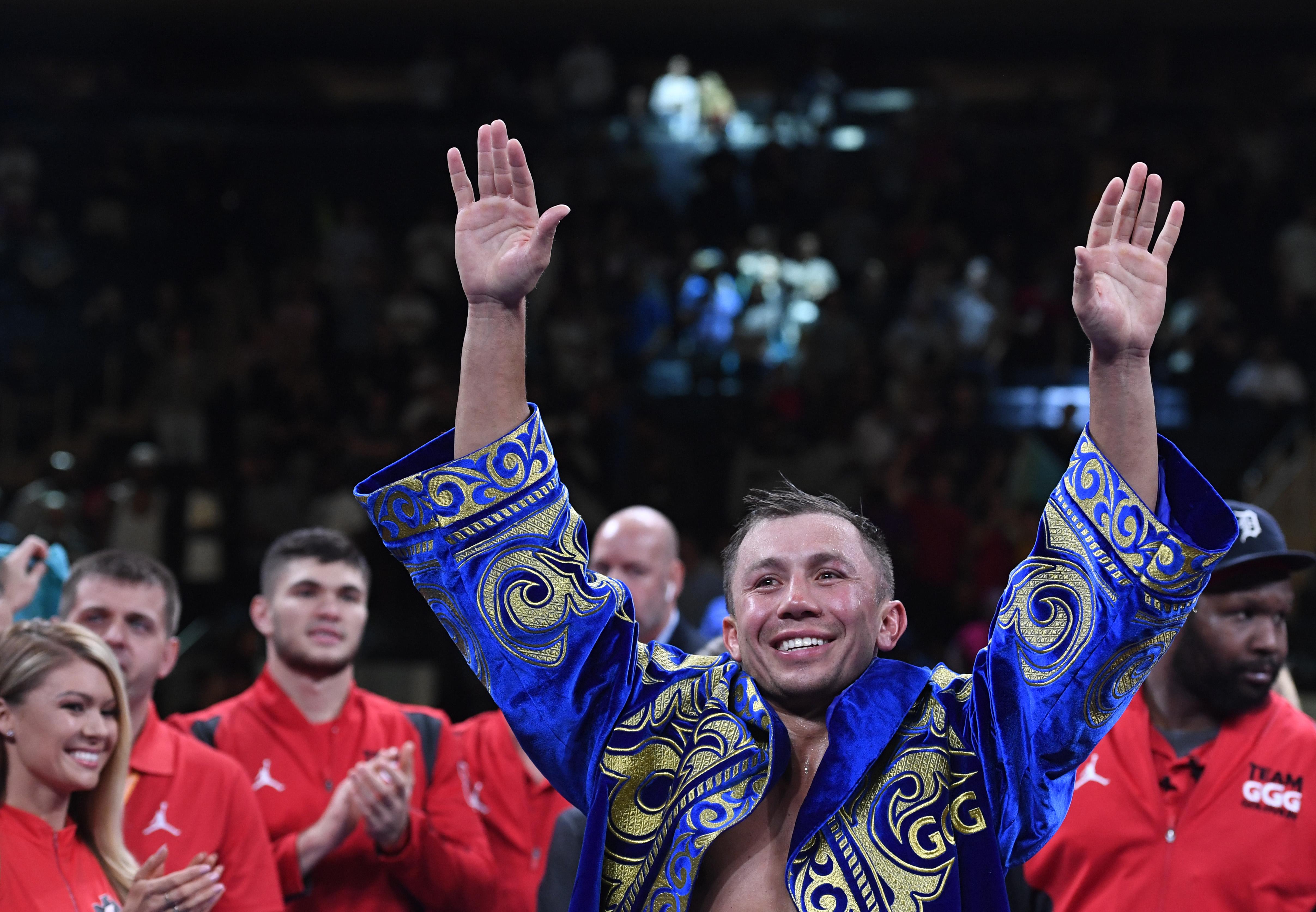 Gennady Golovkin v Steve Rolls