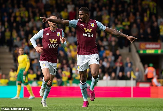 Aston Villa v Norwich City Player Ratings