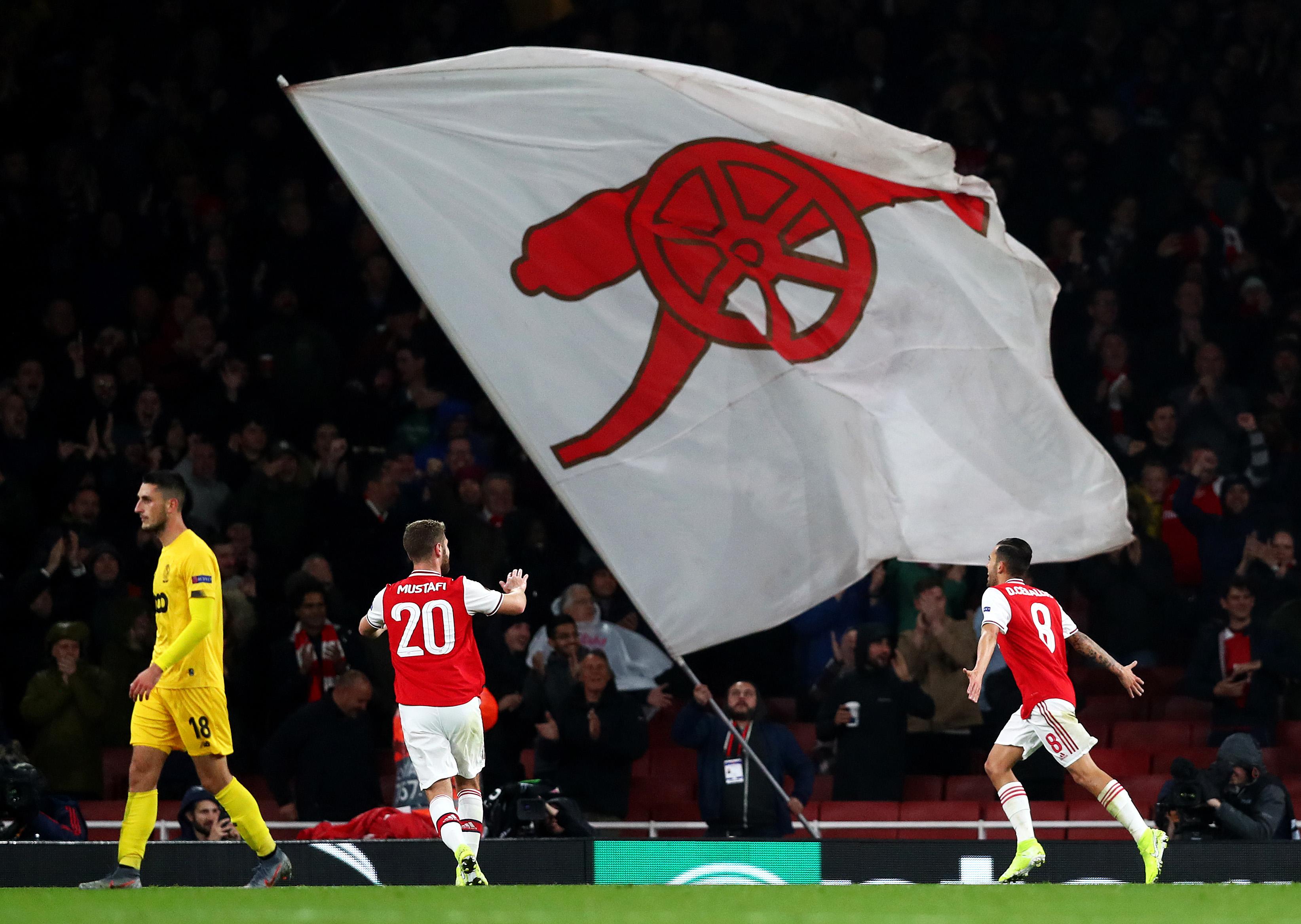 Arsenal FC v Standard Liege: Group F - UEFA Europa League