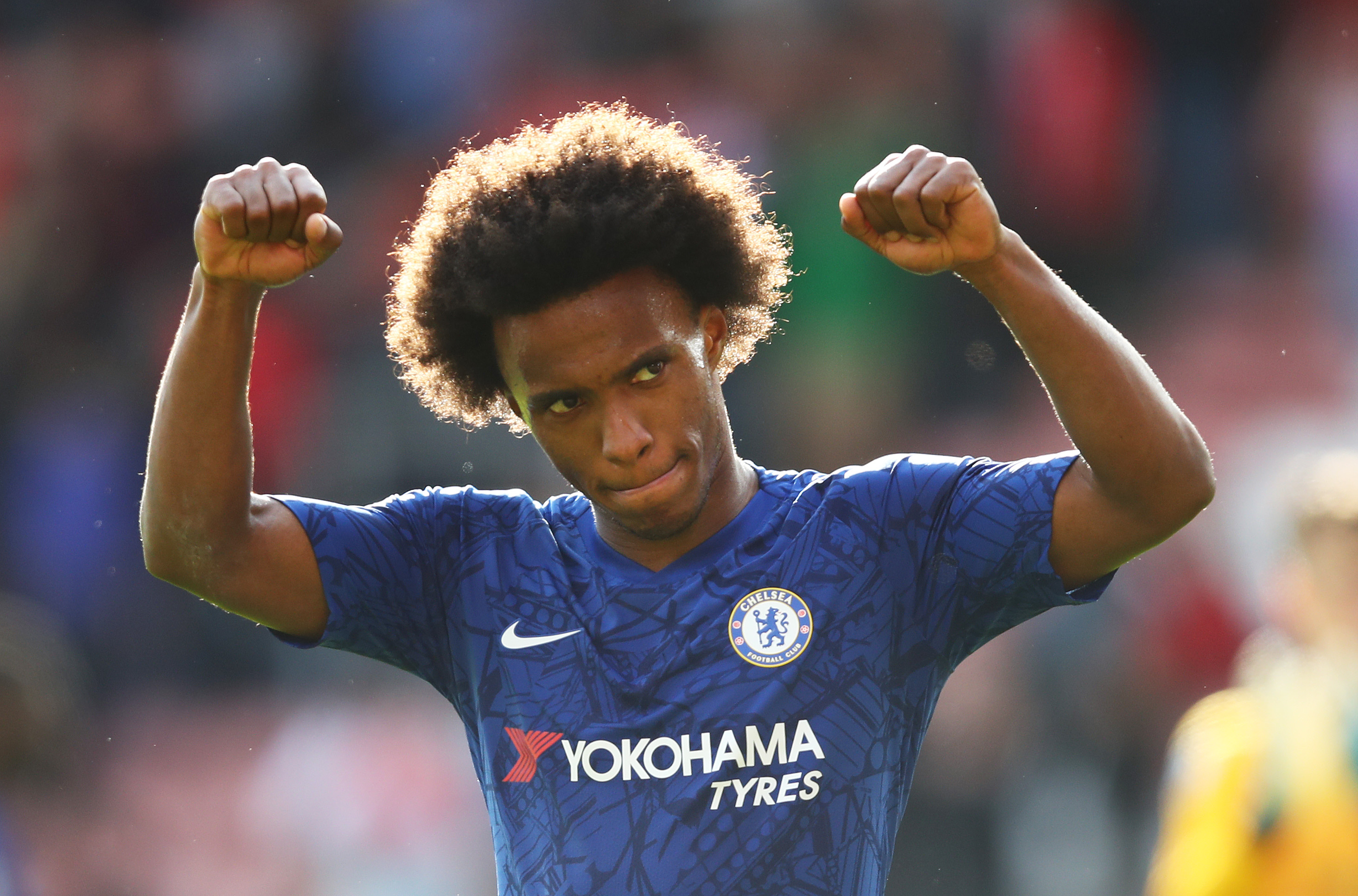 Lampard praises youngsters, but singles out Willian as once again Chelsea's best