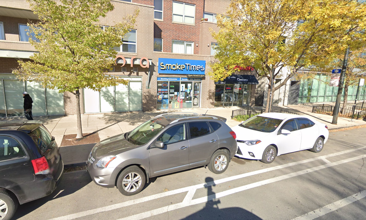 Burglars stole an ATM from a tobacco shop Oct. 7, 2019, in the 1800 block of West Division Street.