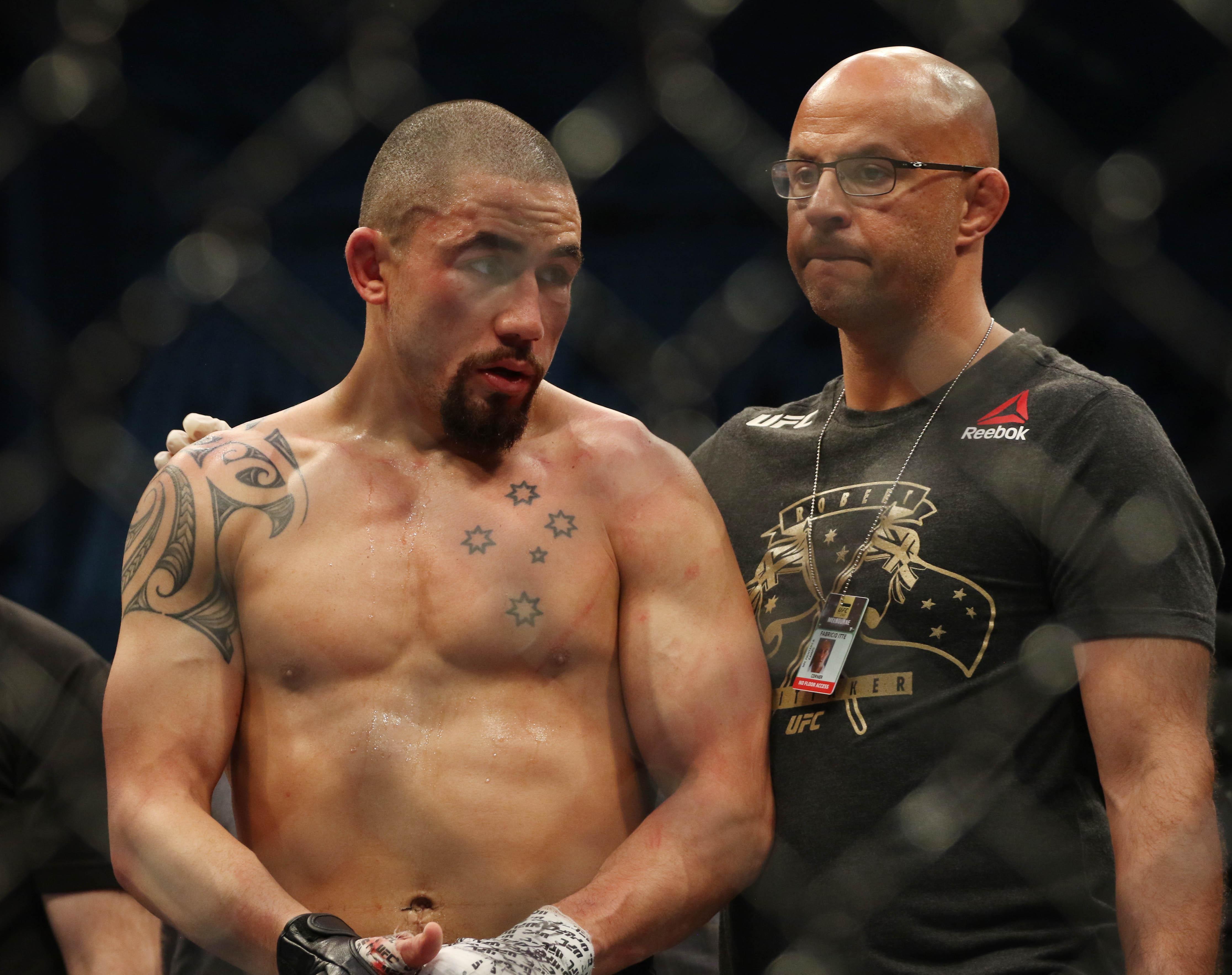 MMA: UFC 243-Whittaker vs Adesanya