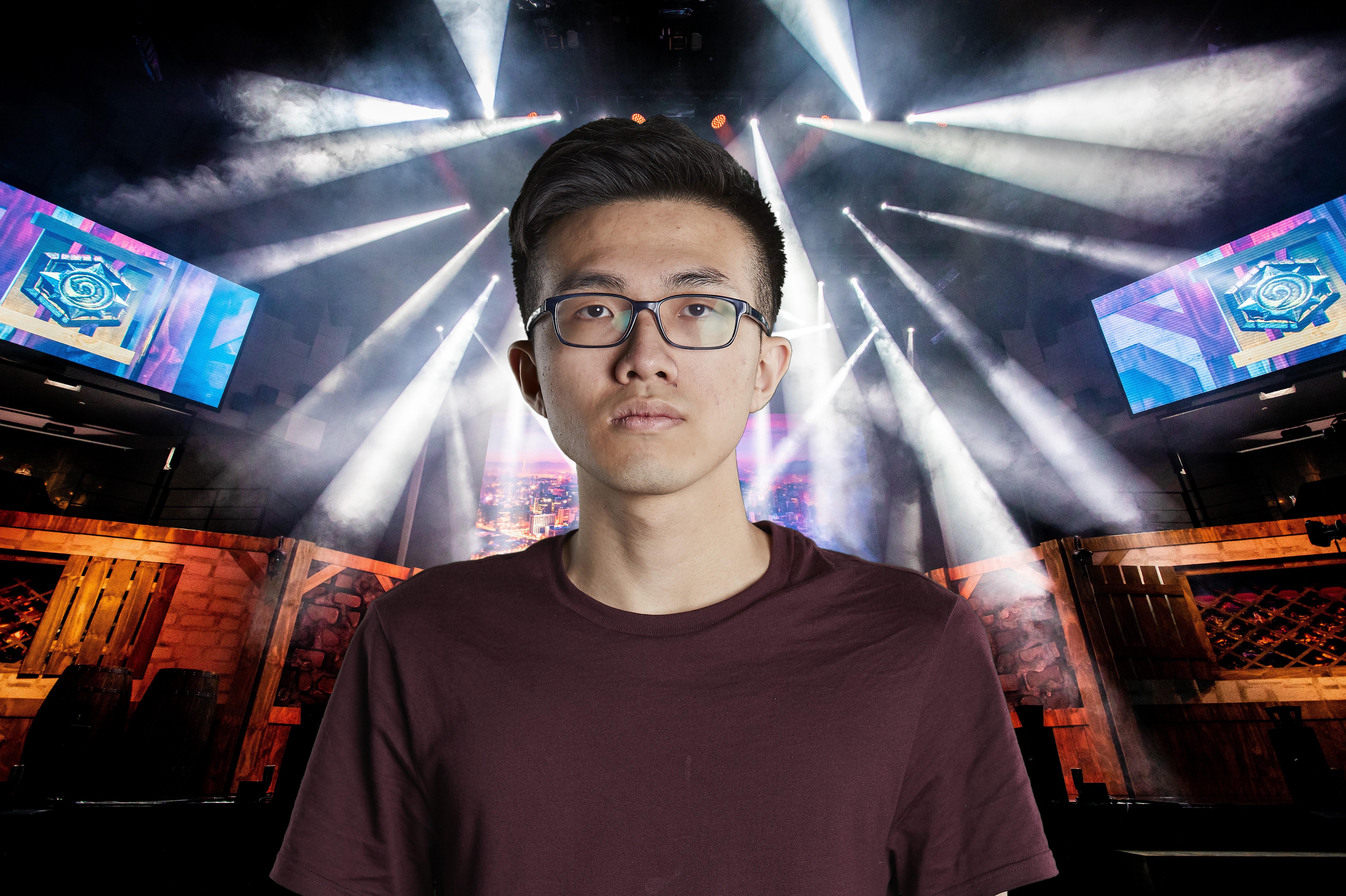 """Hearthstone player Chung """"blitzchung"""" Ng Wai"""