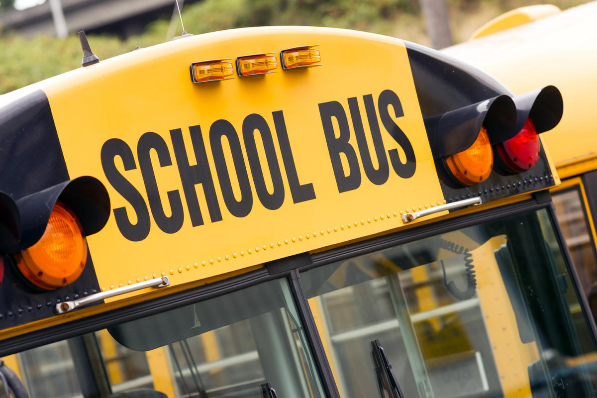 The threat sent school buses back to their lots.