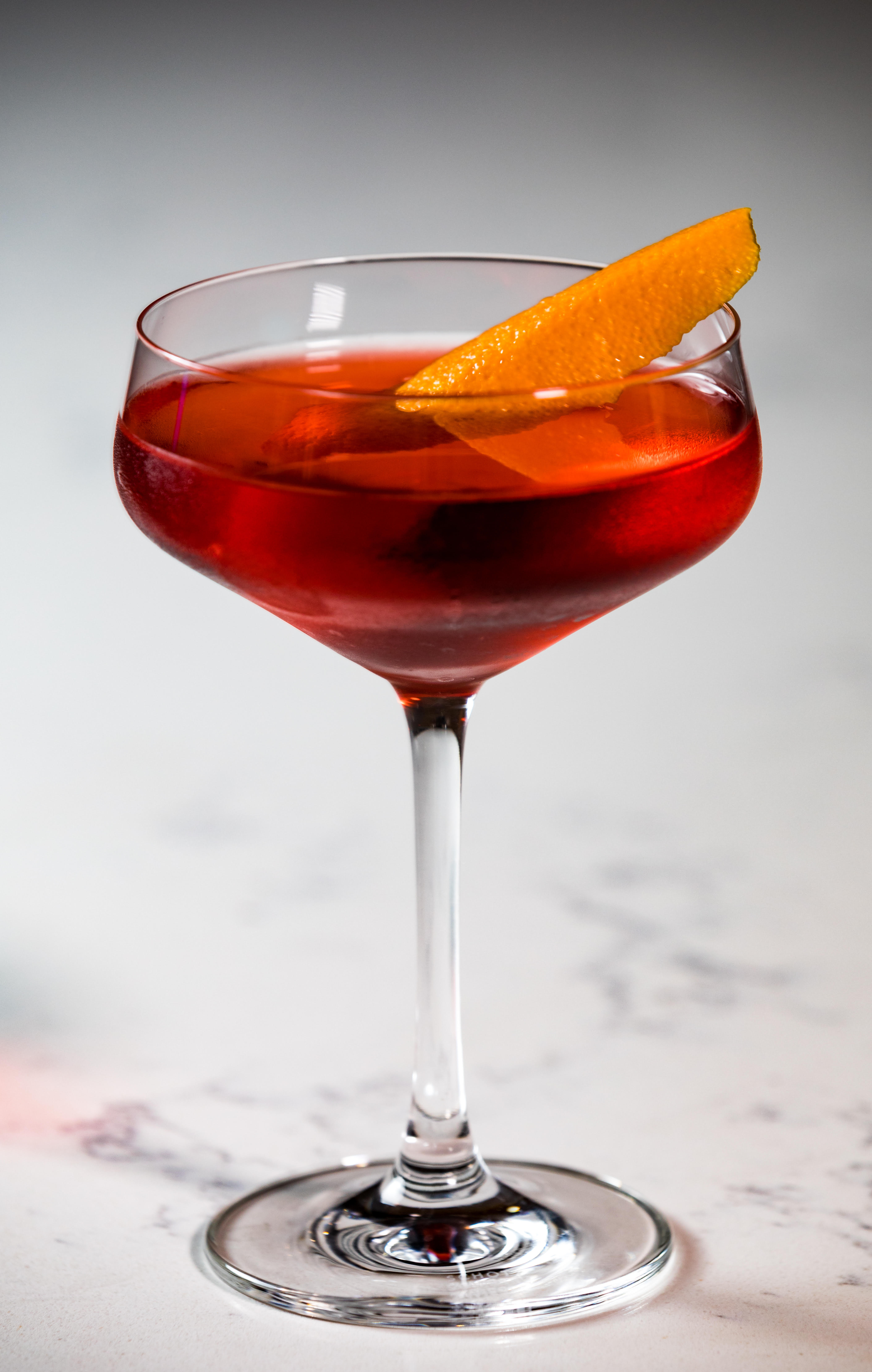 A Negroni in a glass.