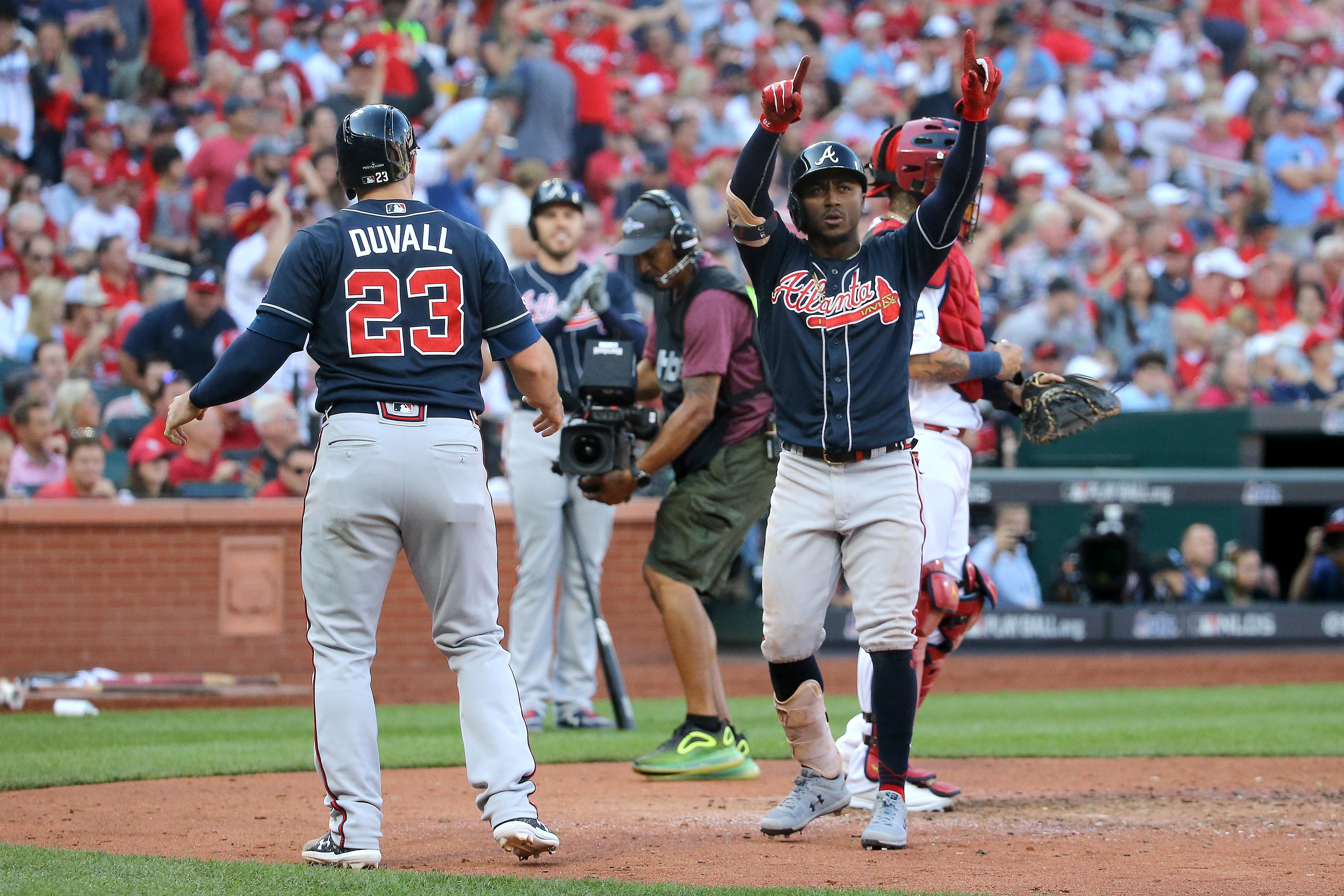Divisional Series - Atlanta Braves v St Louis Cardinals - Game Four