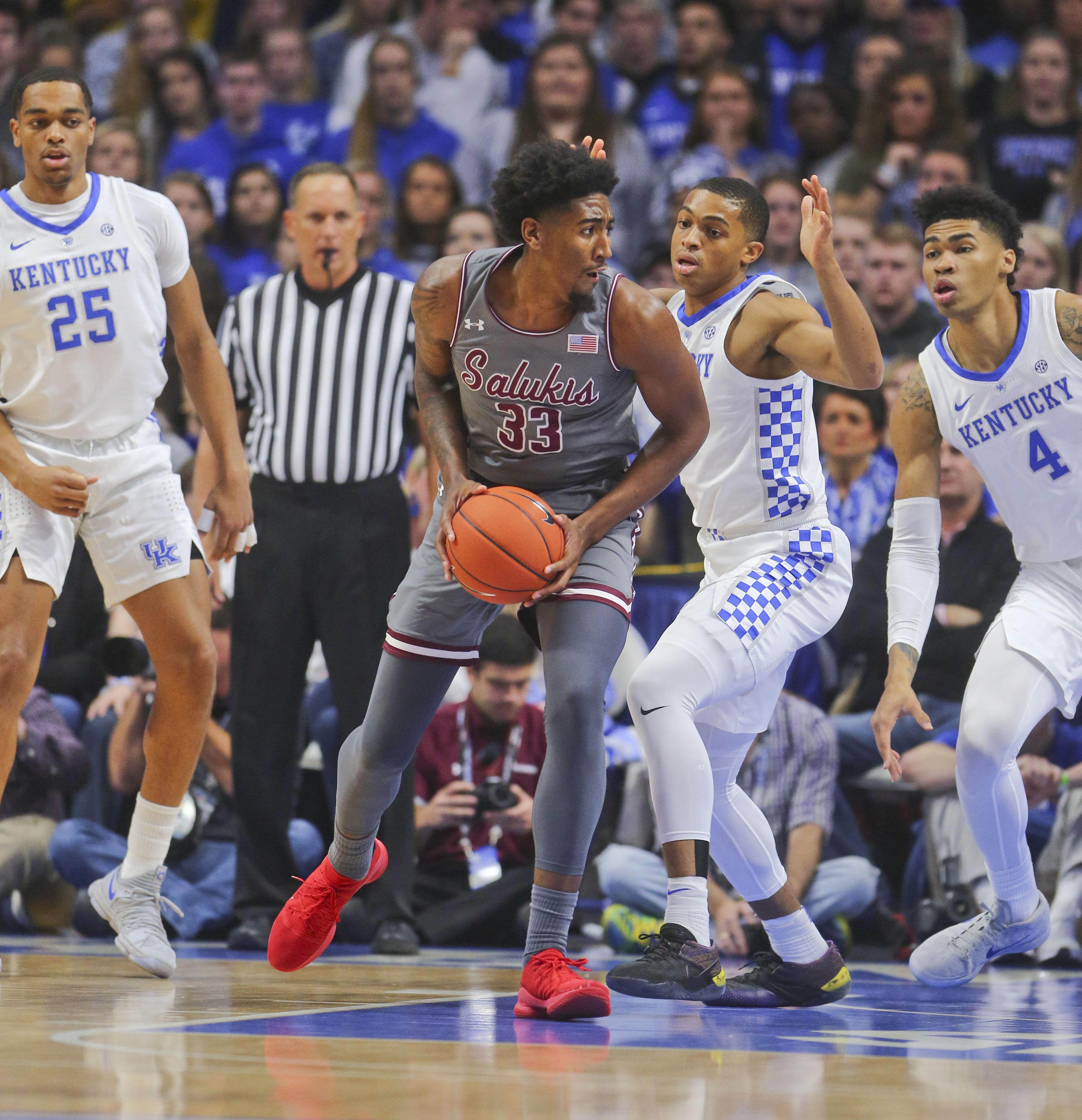 NCAA Basketball: Southern Illinois at Kentucky