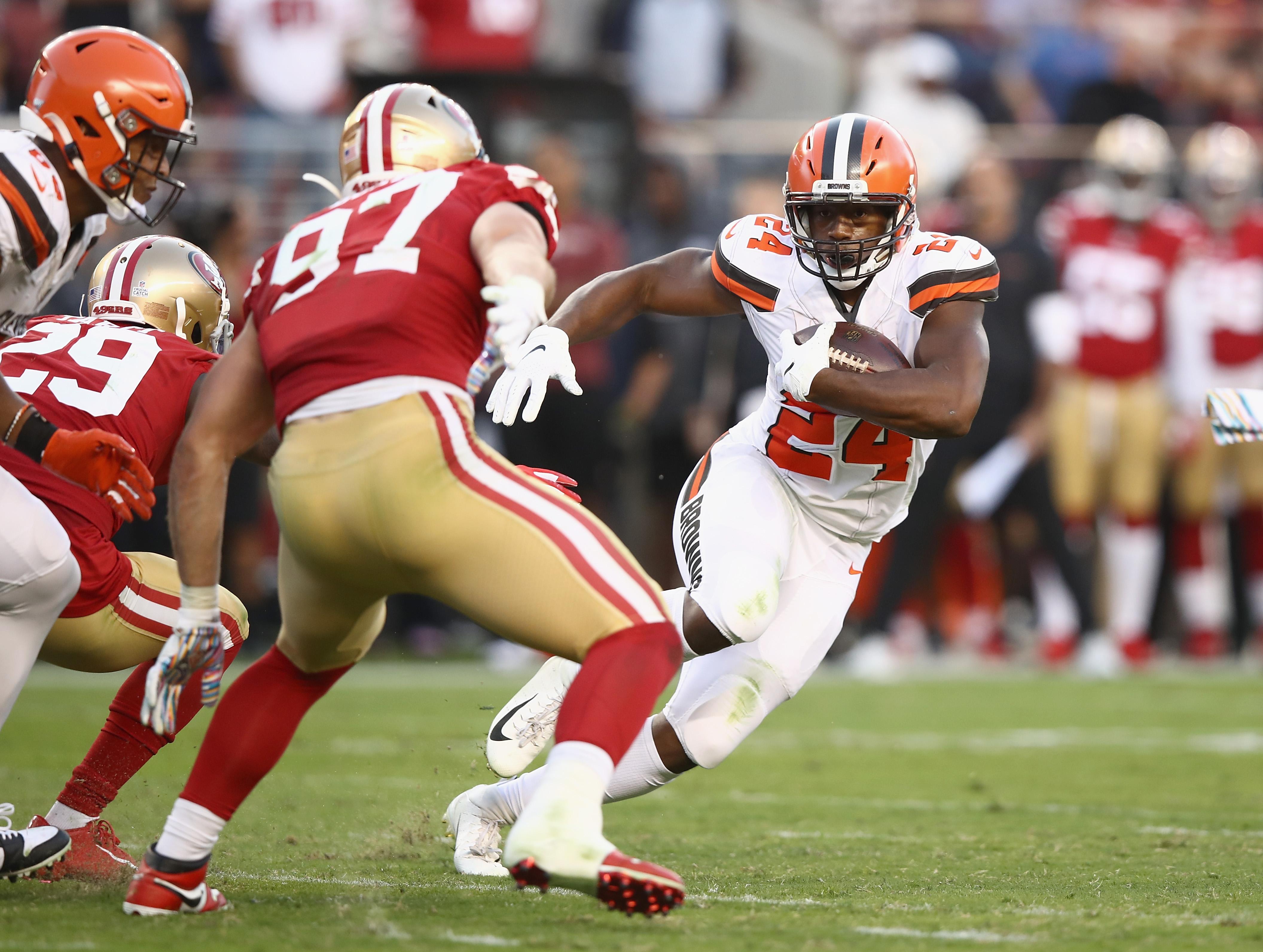 Cleveland Browns vSan Francisco 49ers