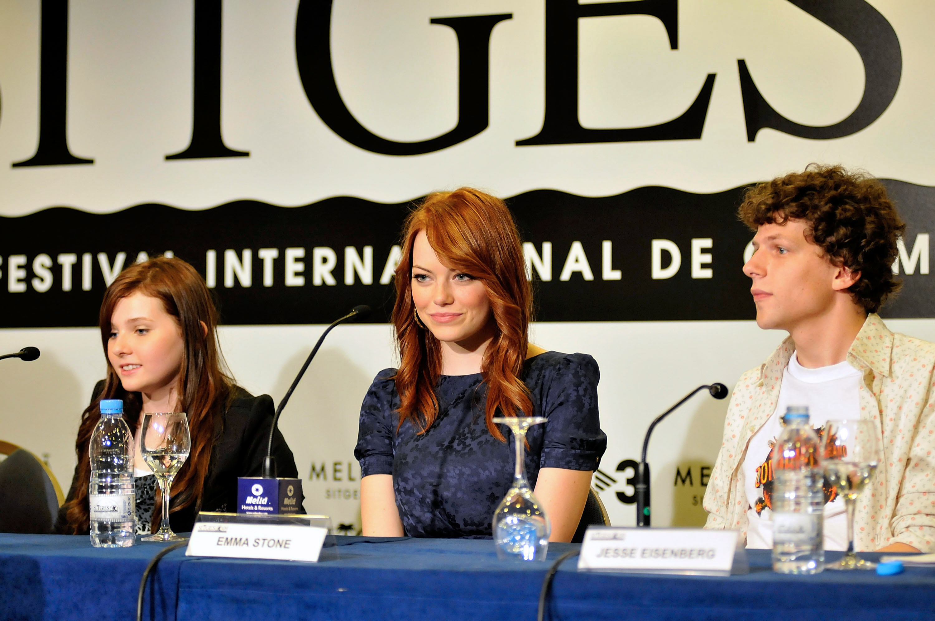42nd Sitges Film Festival: 'Zombieland' Photocall