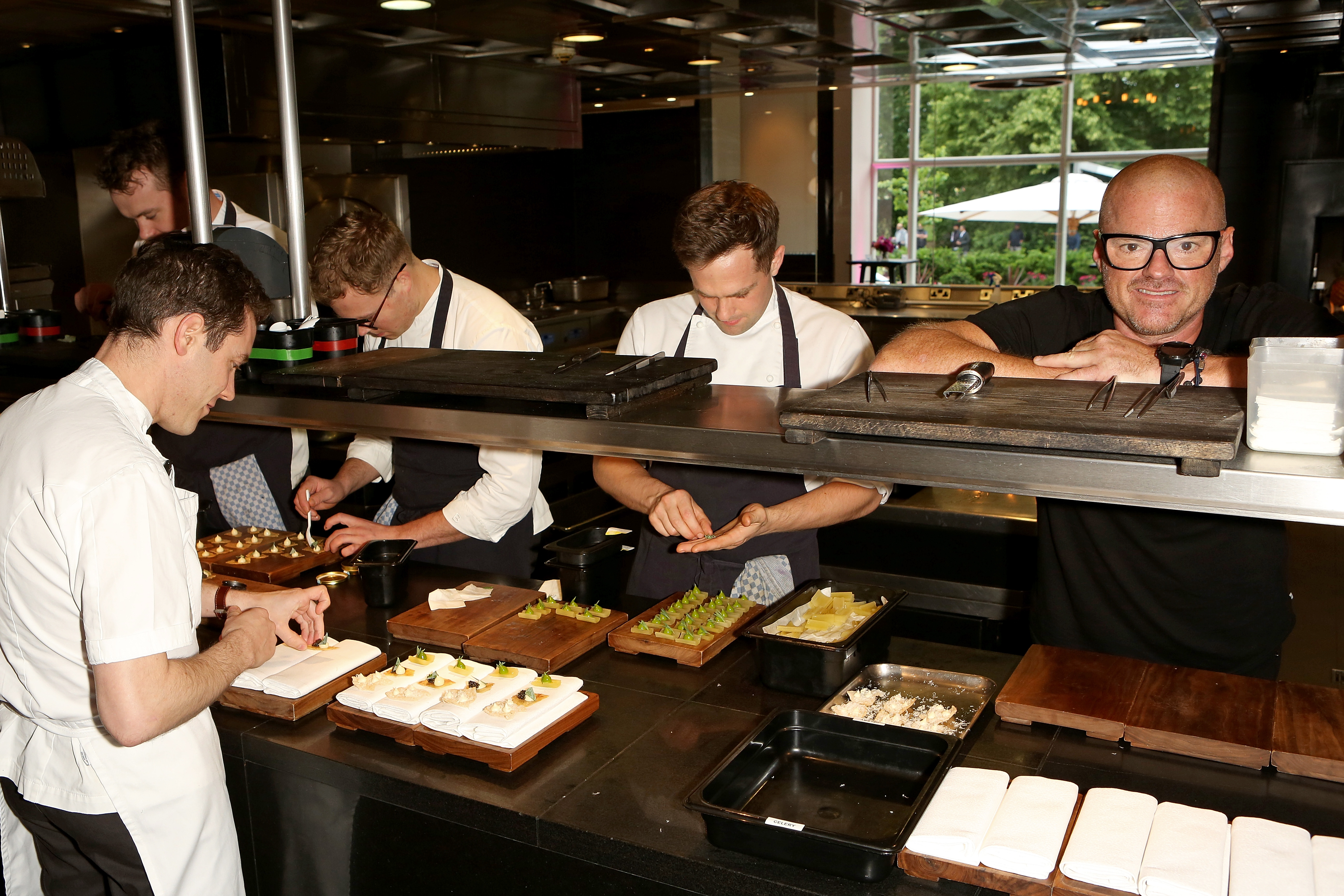Molecular Gastronomer Heston Blumenthal Says 'Women Standing Up for Themselves' Shocks Male Chefs