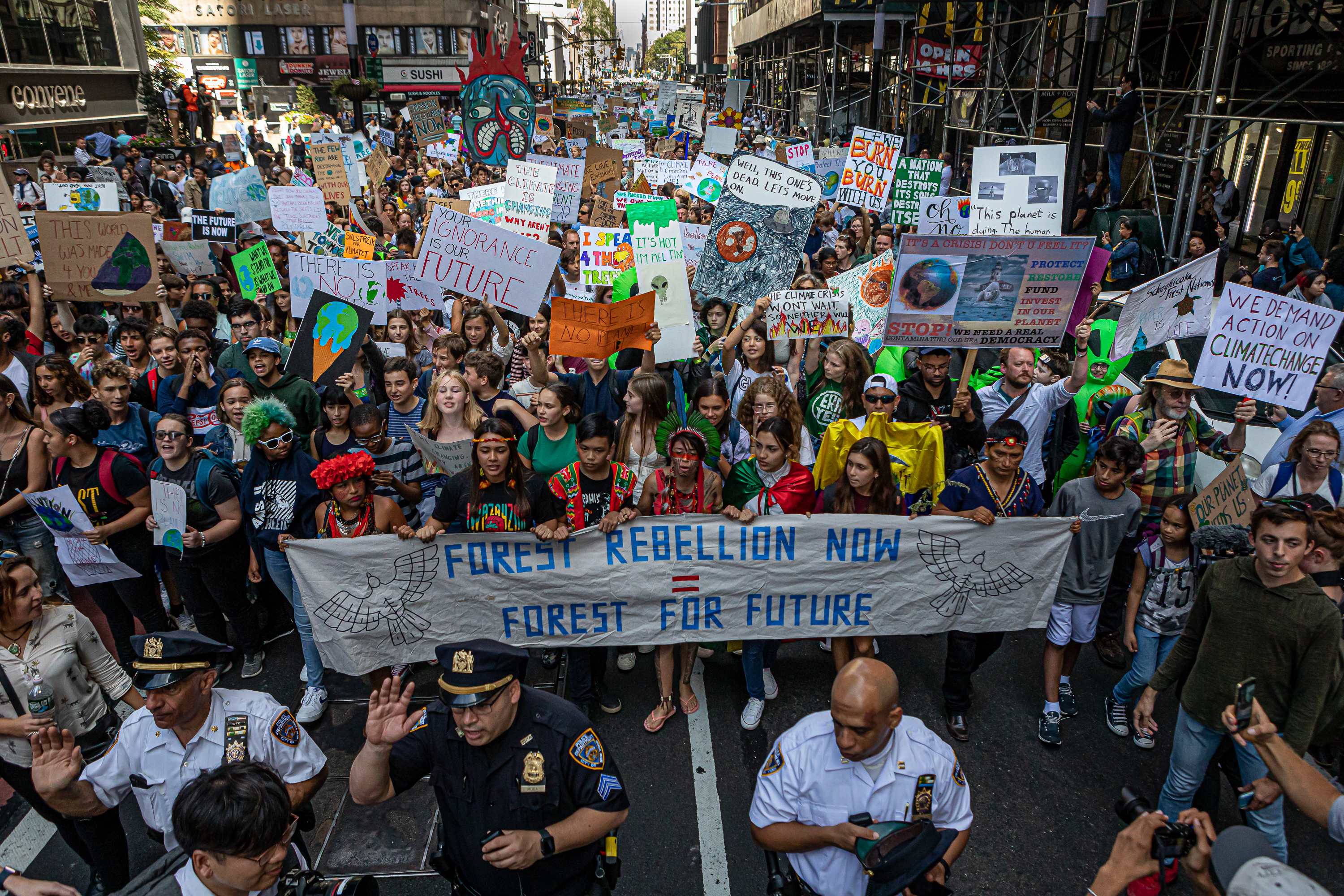"""""""Our bet is paying off"""": why philanthropists are raising money for climate activists"""