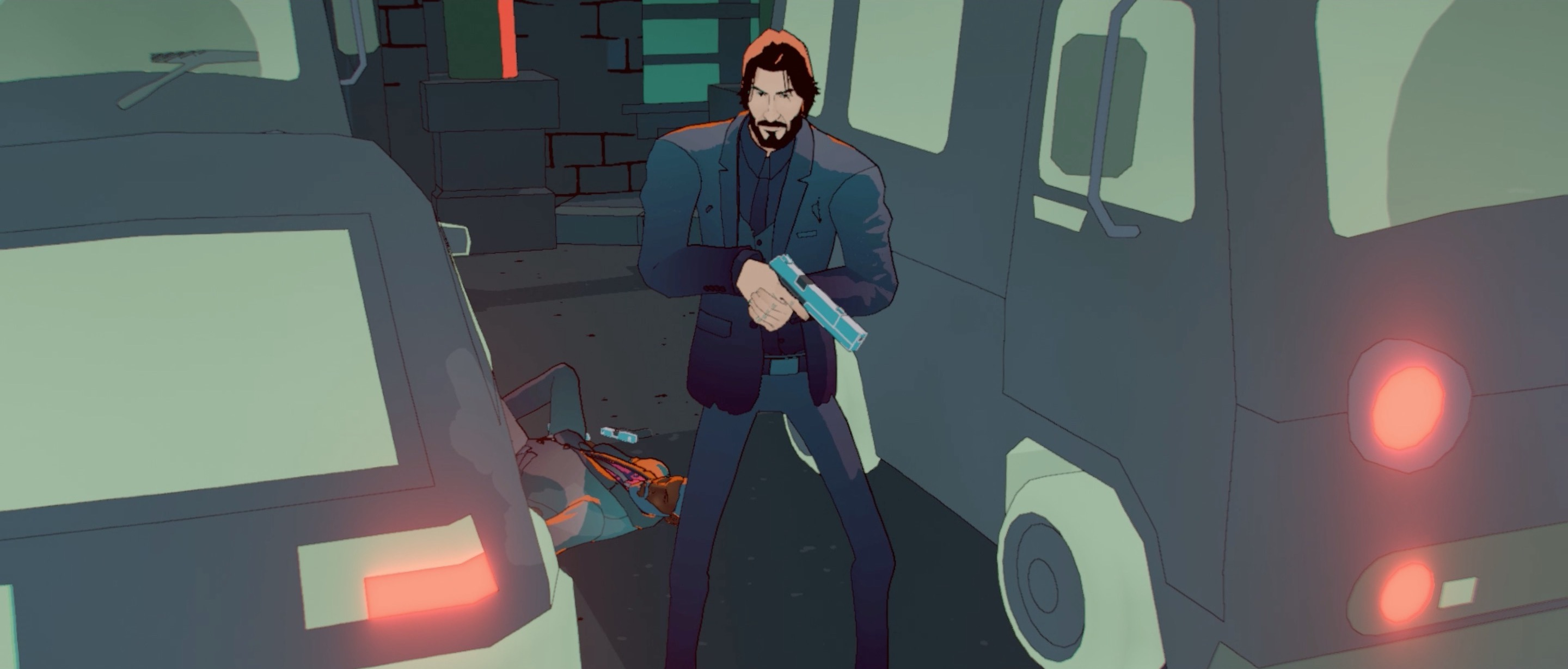 John Wick Hex: The action 'film' that plays like a board game