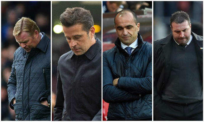 Everton seem stuck in a death spiral and even a change of manager may not get them out it