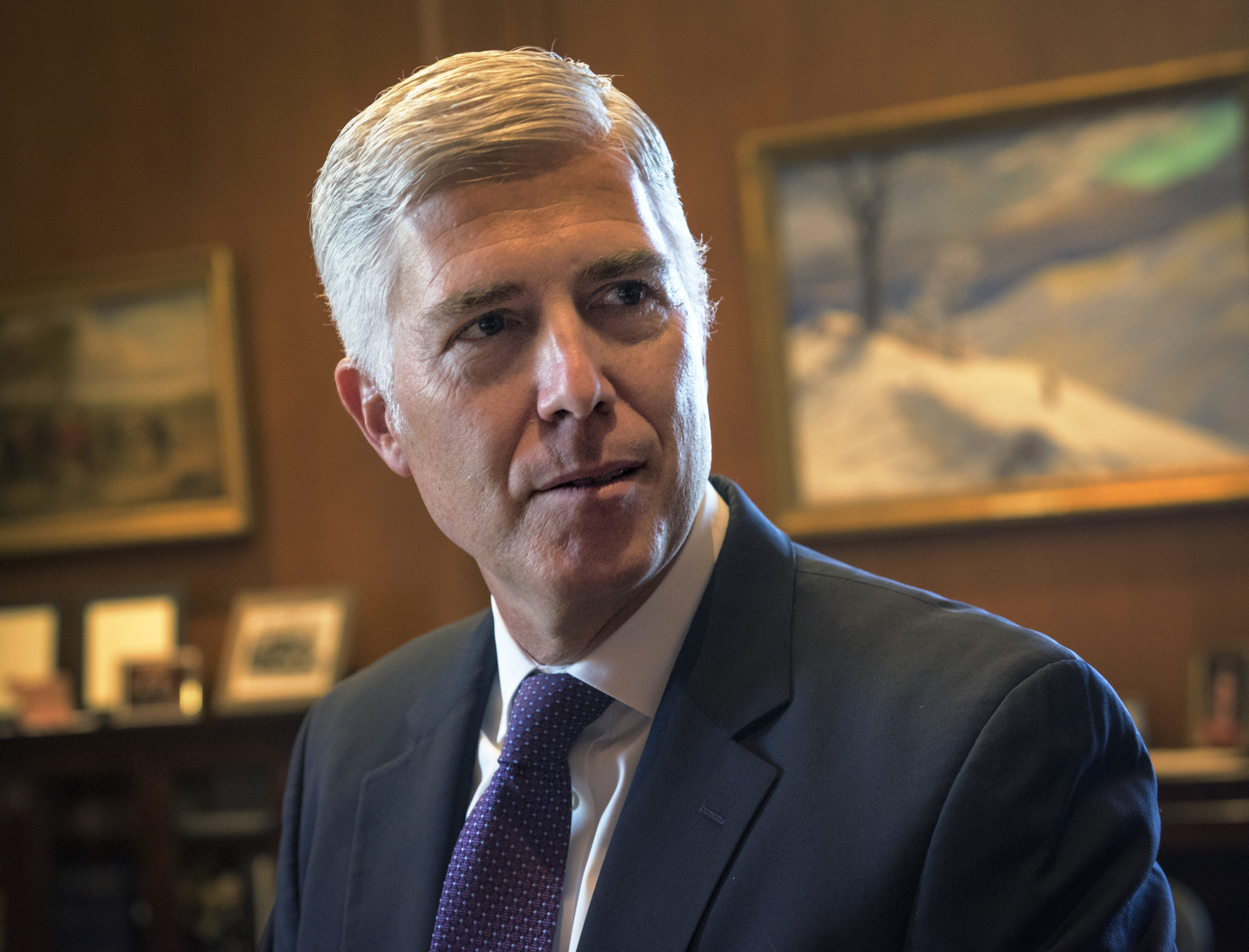 Justice Gorsuch emerges as an unlikely swing vote in the LGBTQ discrimination cases