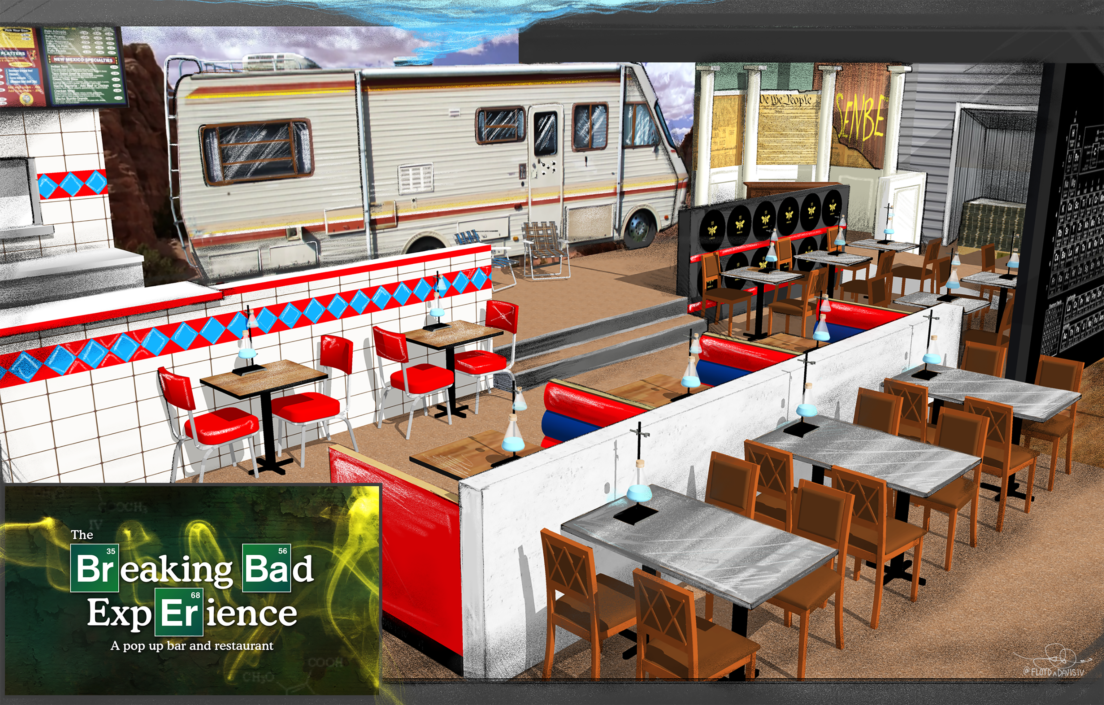 Be the One Who Knocks at the Breaking Bad-Themed Restaurant Pop-Up