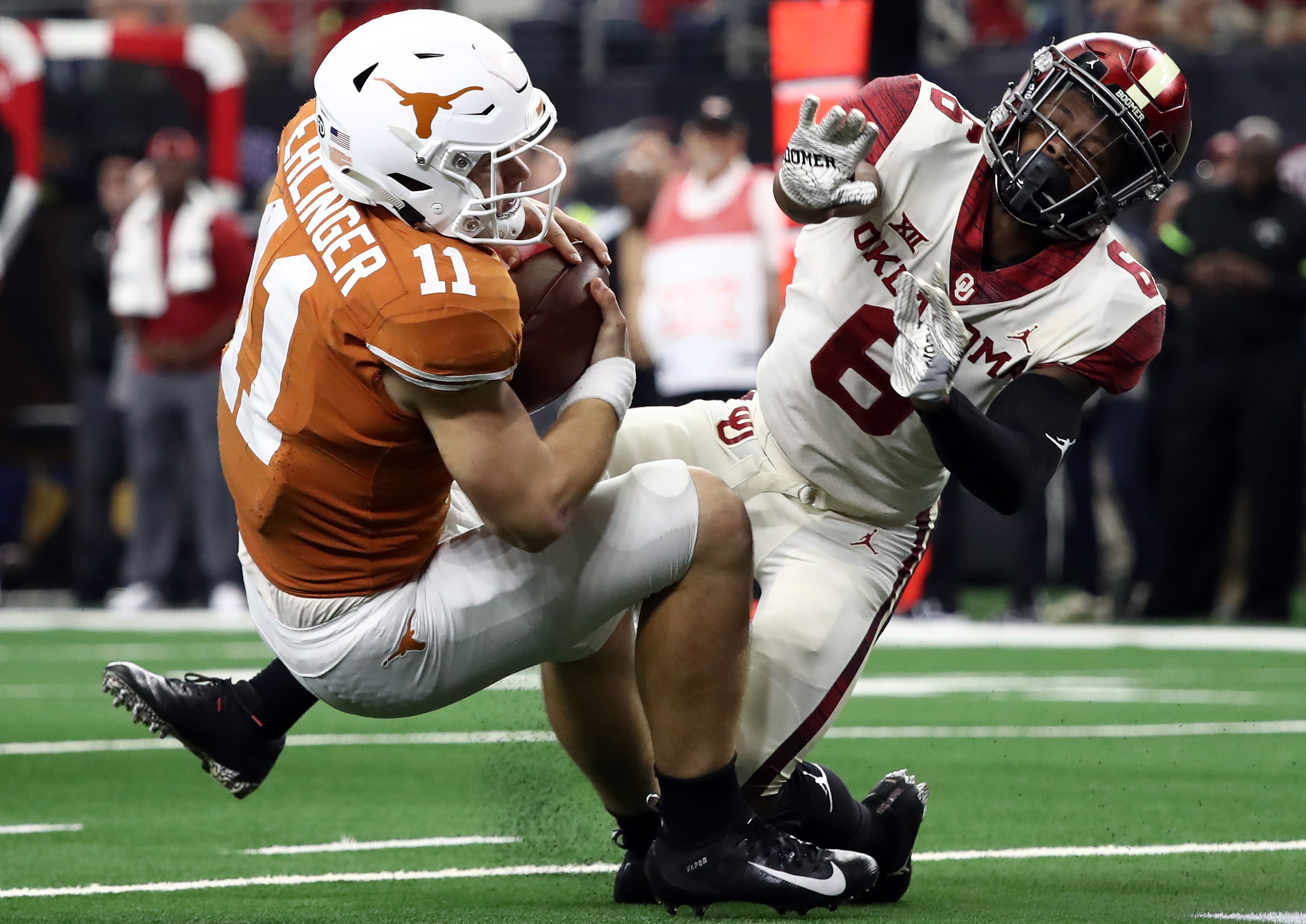 Big 12 Championship - Texas v Oklahoma