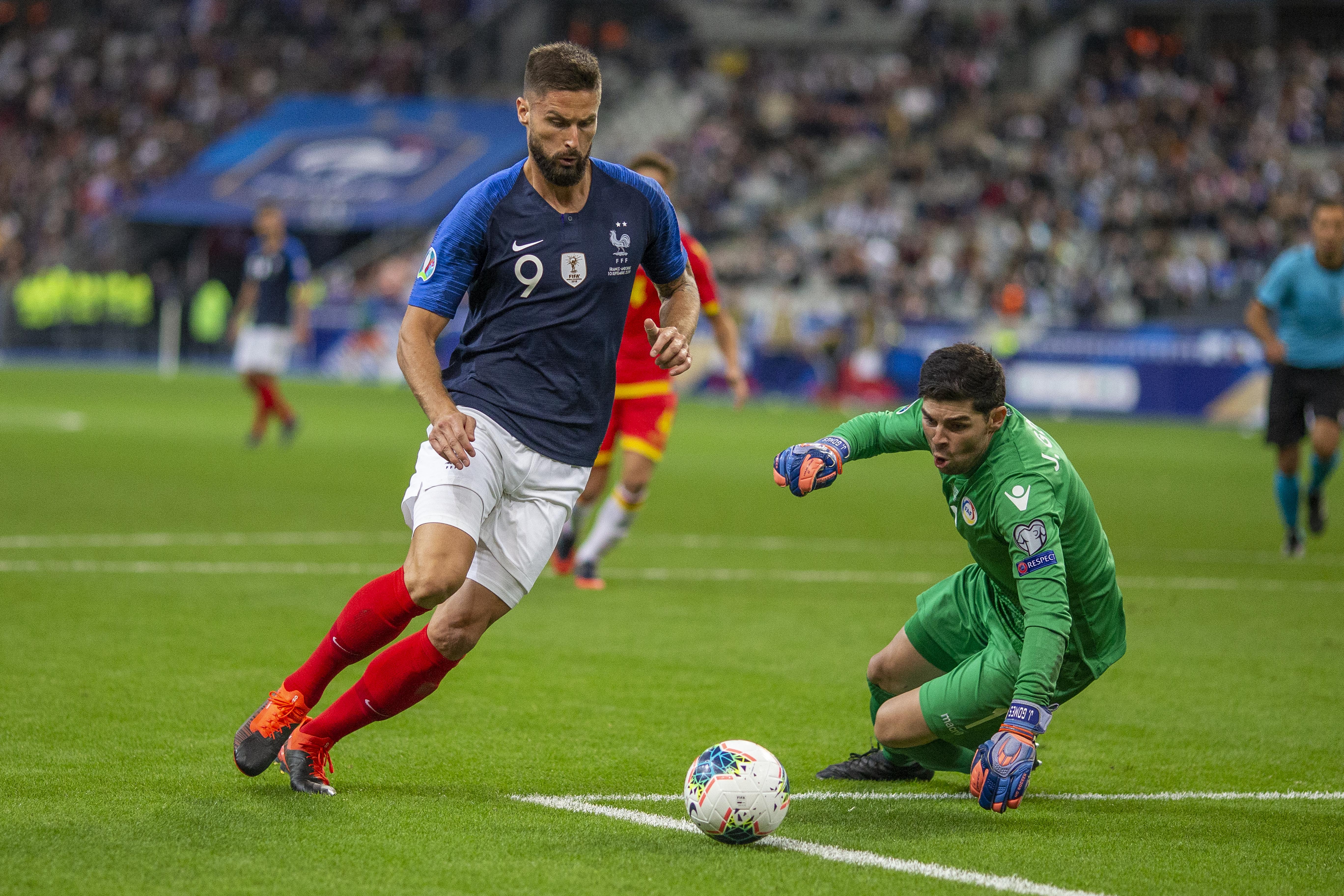 France V Andorra