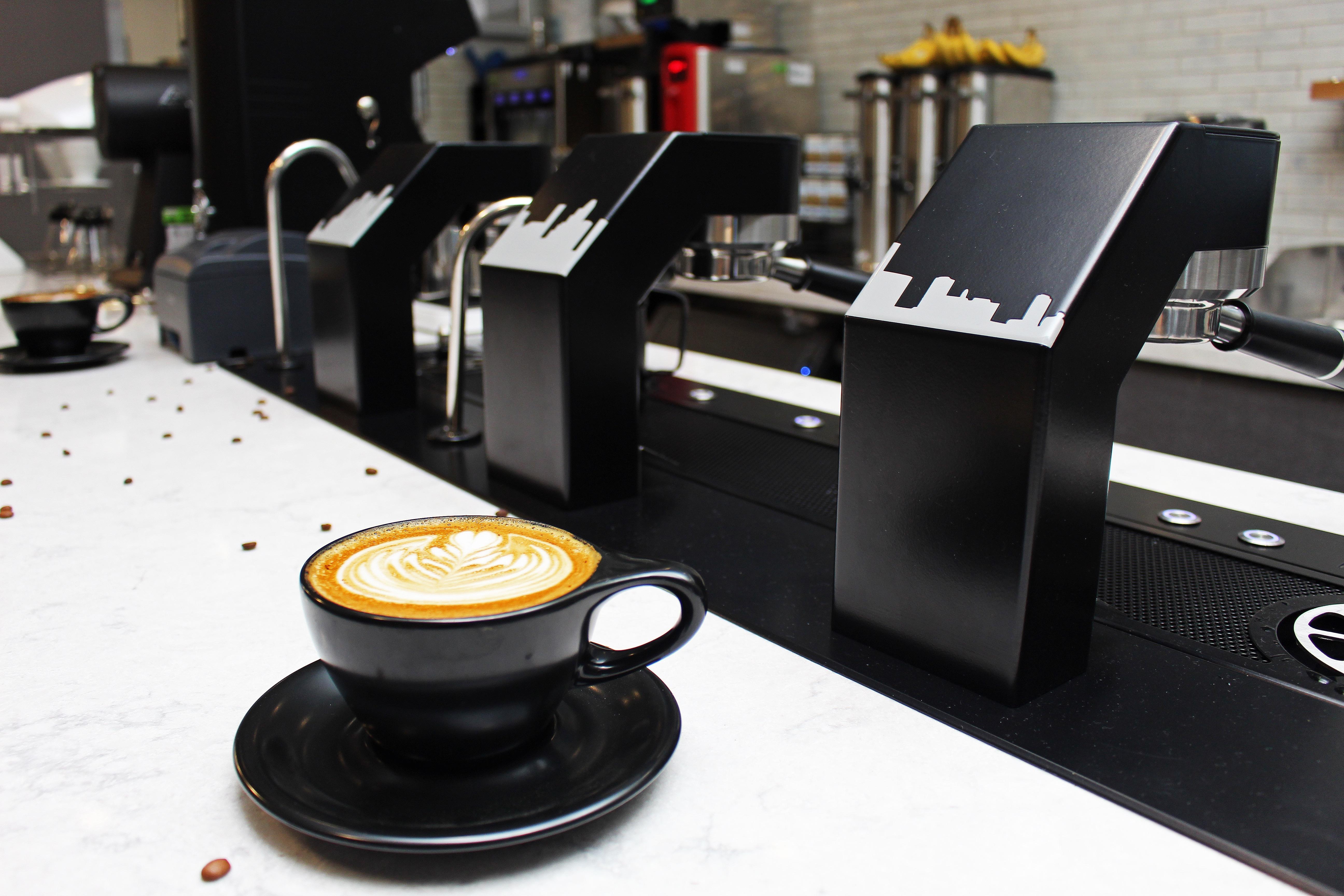 The espresso machine at The Roastery Coffee Kitchen