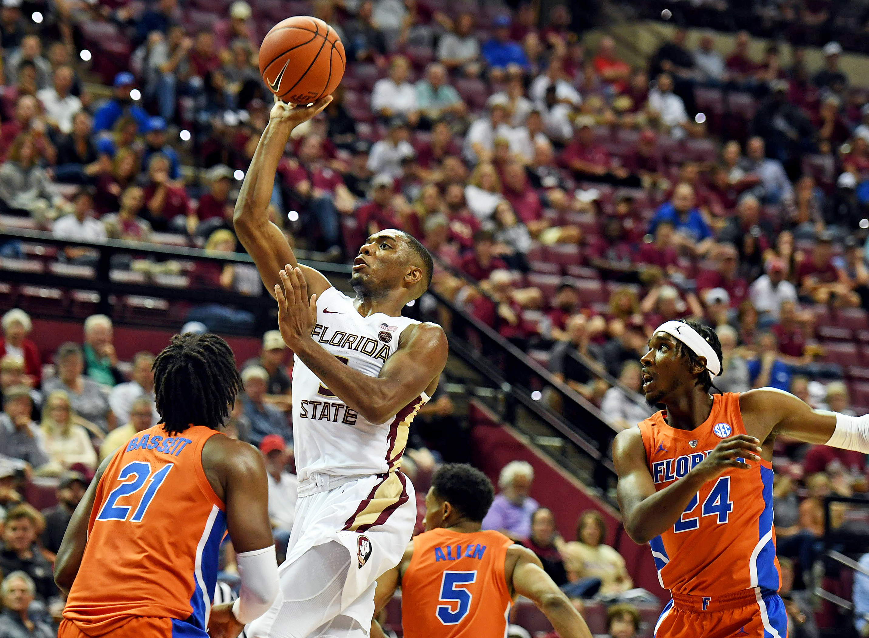 NCAA Basketball: Florida at Florida State