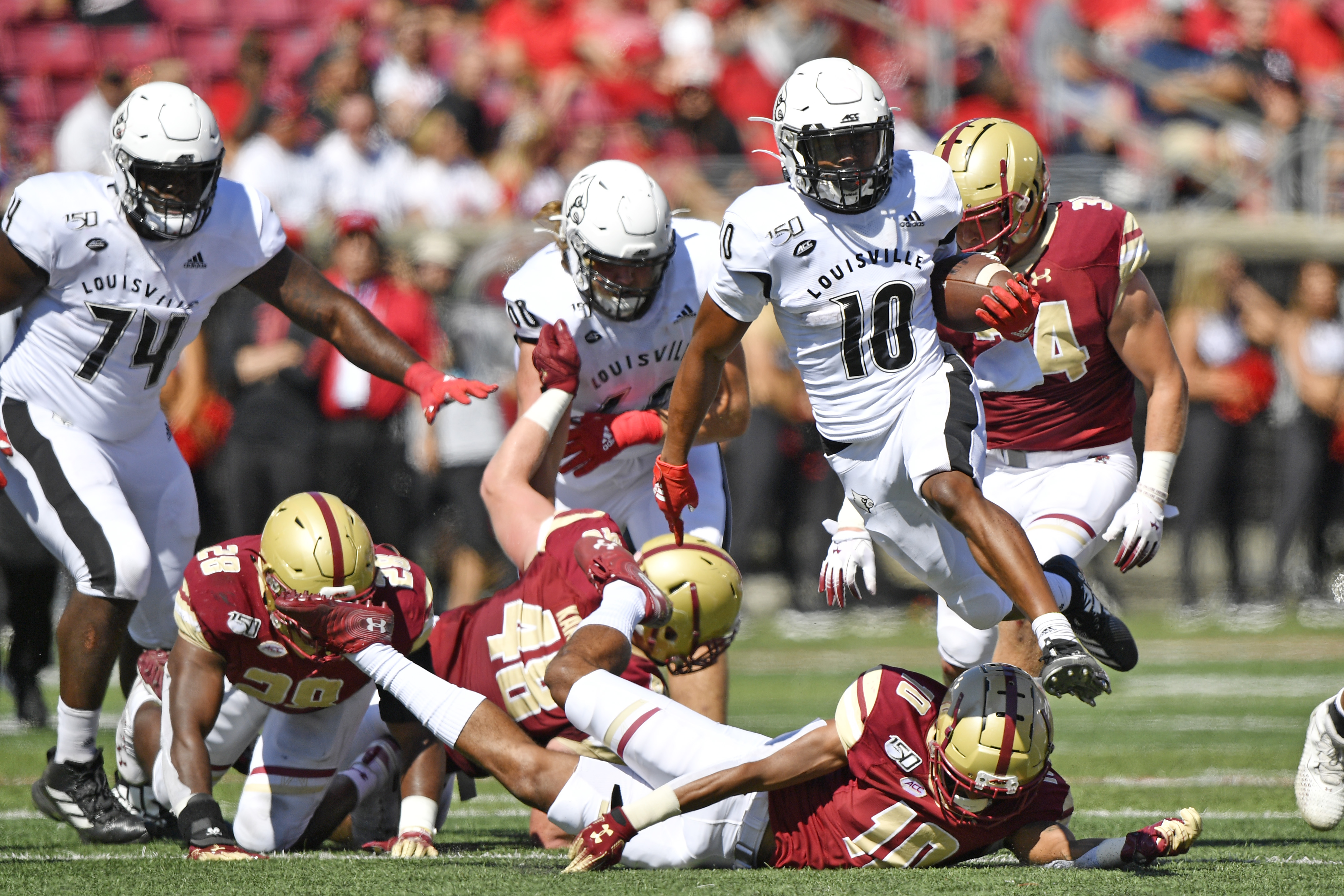 NCAA Football: Boston College at Louisville