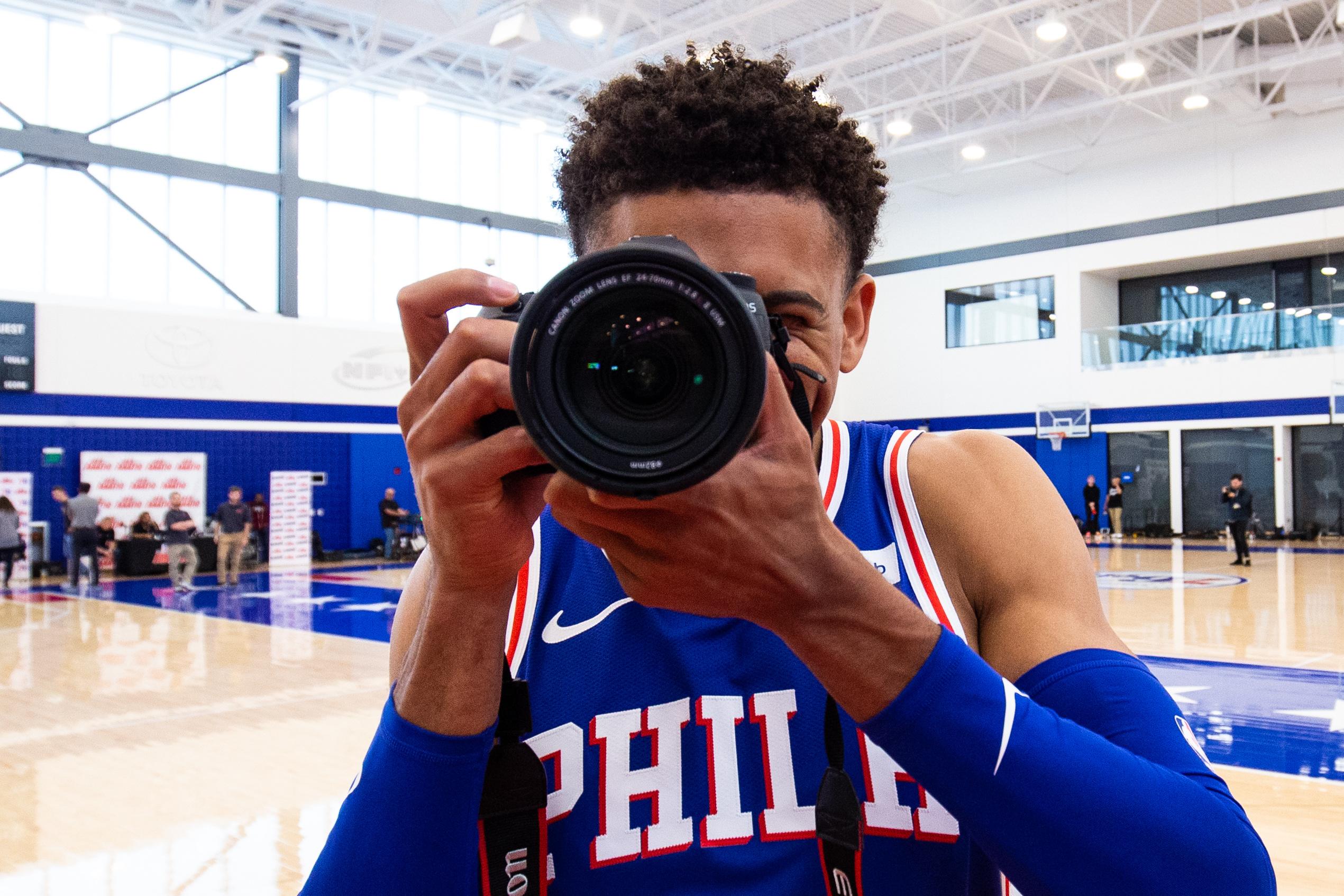 NBA: Philadelphia 76ers-Media Day