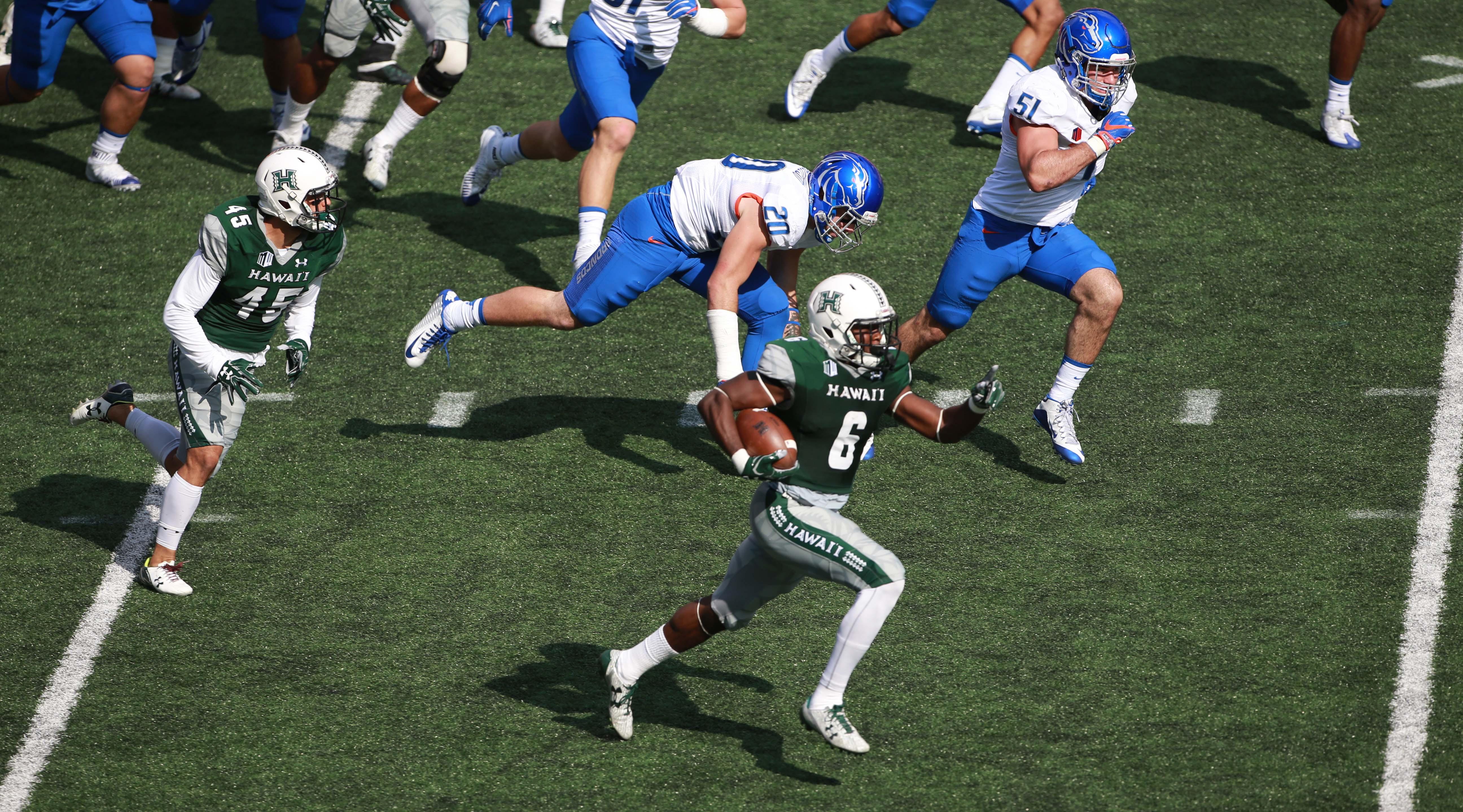 NCAA Football: Boise State at Hawaii