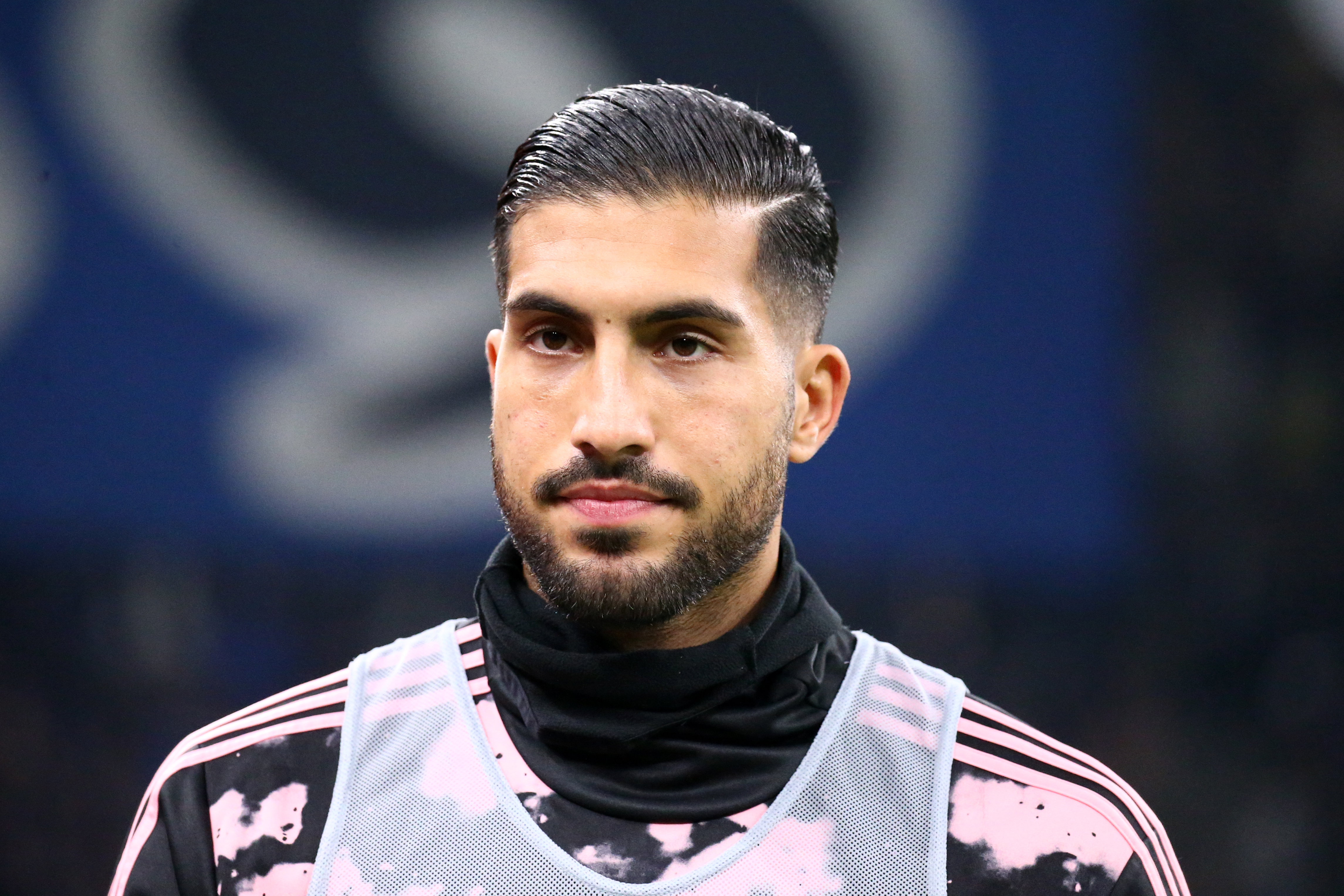 Emre Can of Juventus FC looks on before the Serie A match...