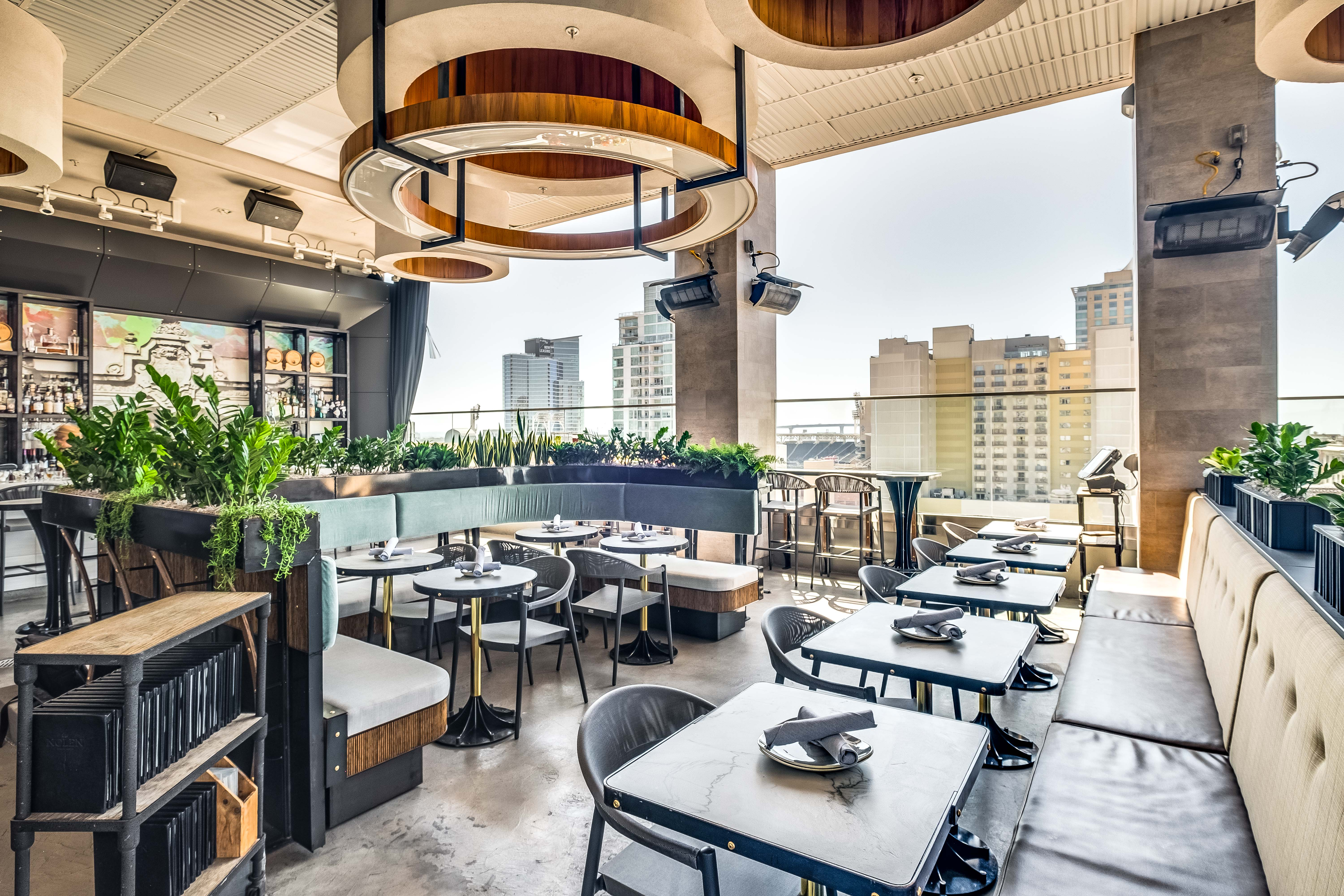 Downtown Rooftop Bar Gets Head-to-Toe Makeover
