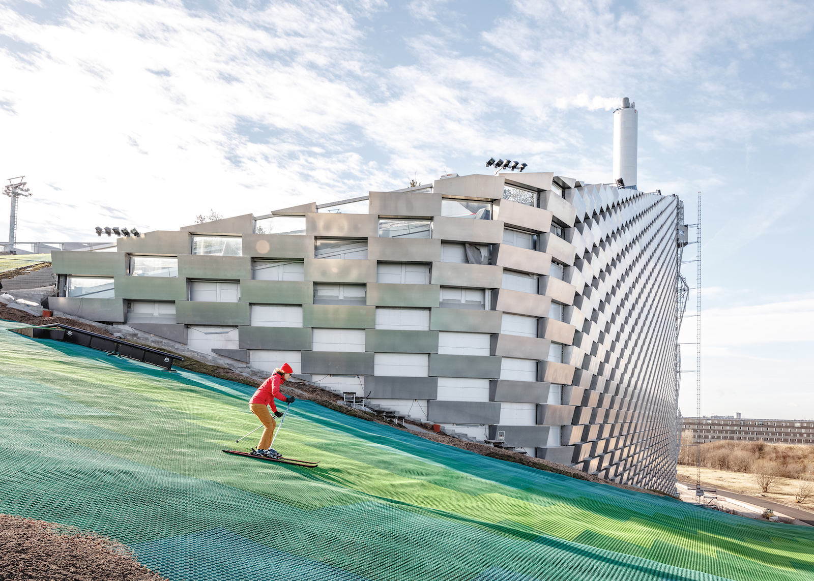 Bjarke Ingels Group's ski slope power plant is finally open