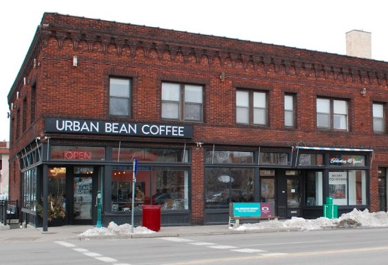 The exterior of Urban Bean