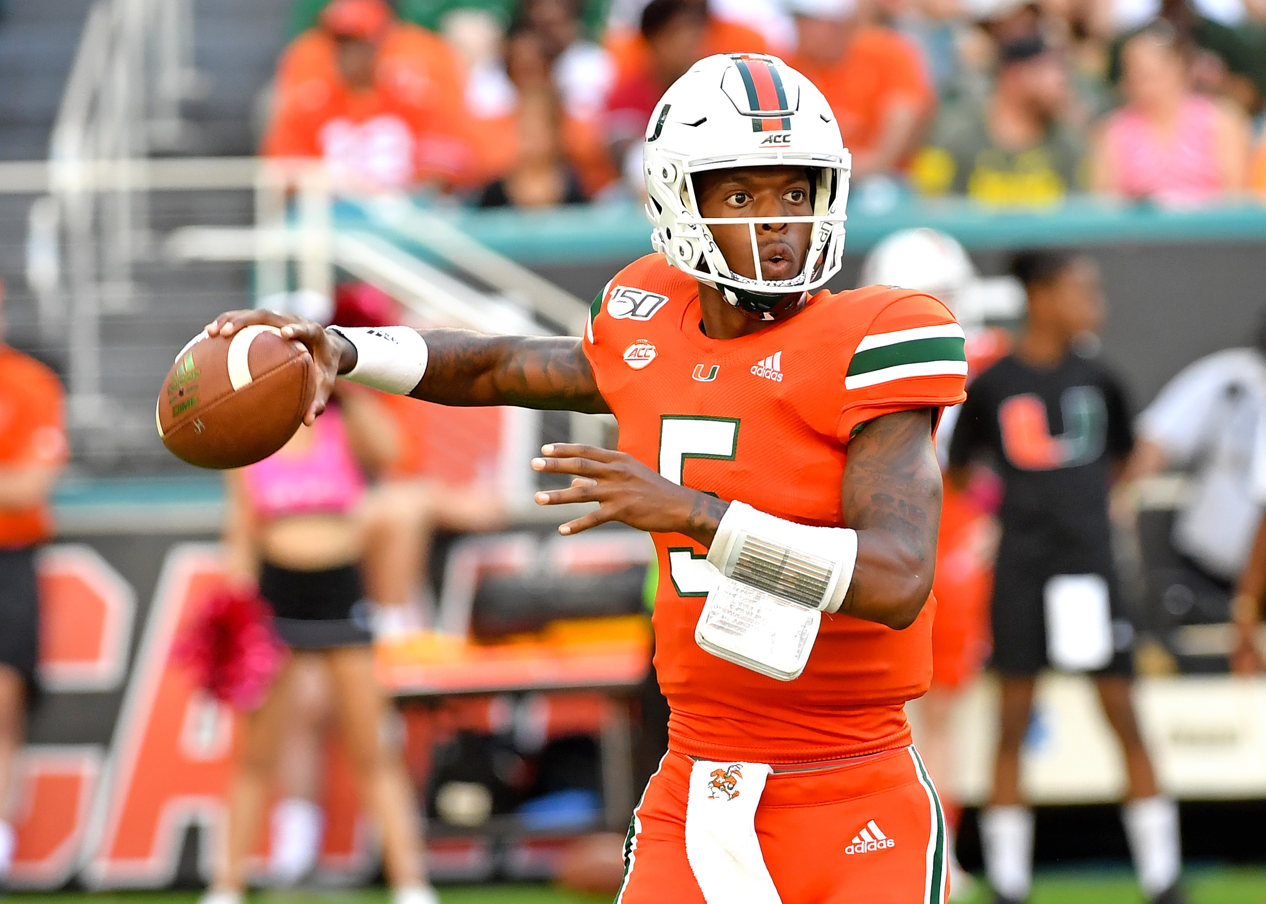 NCAA Football: Virginia Tech at Miami