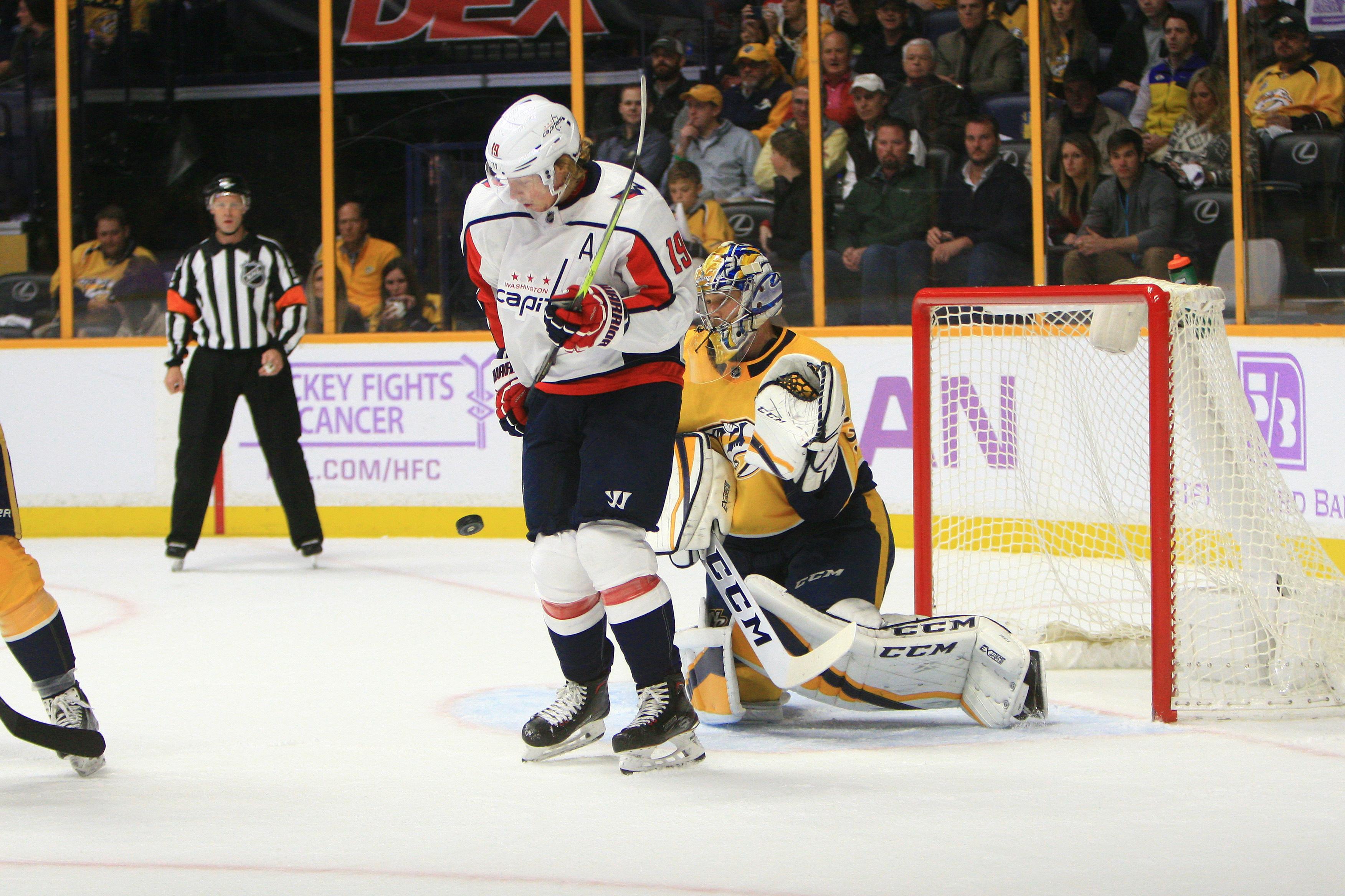 NHL: NOV 14 Capitals at Predators