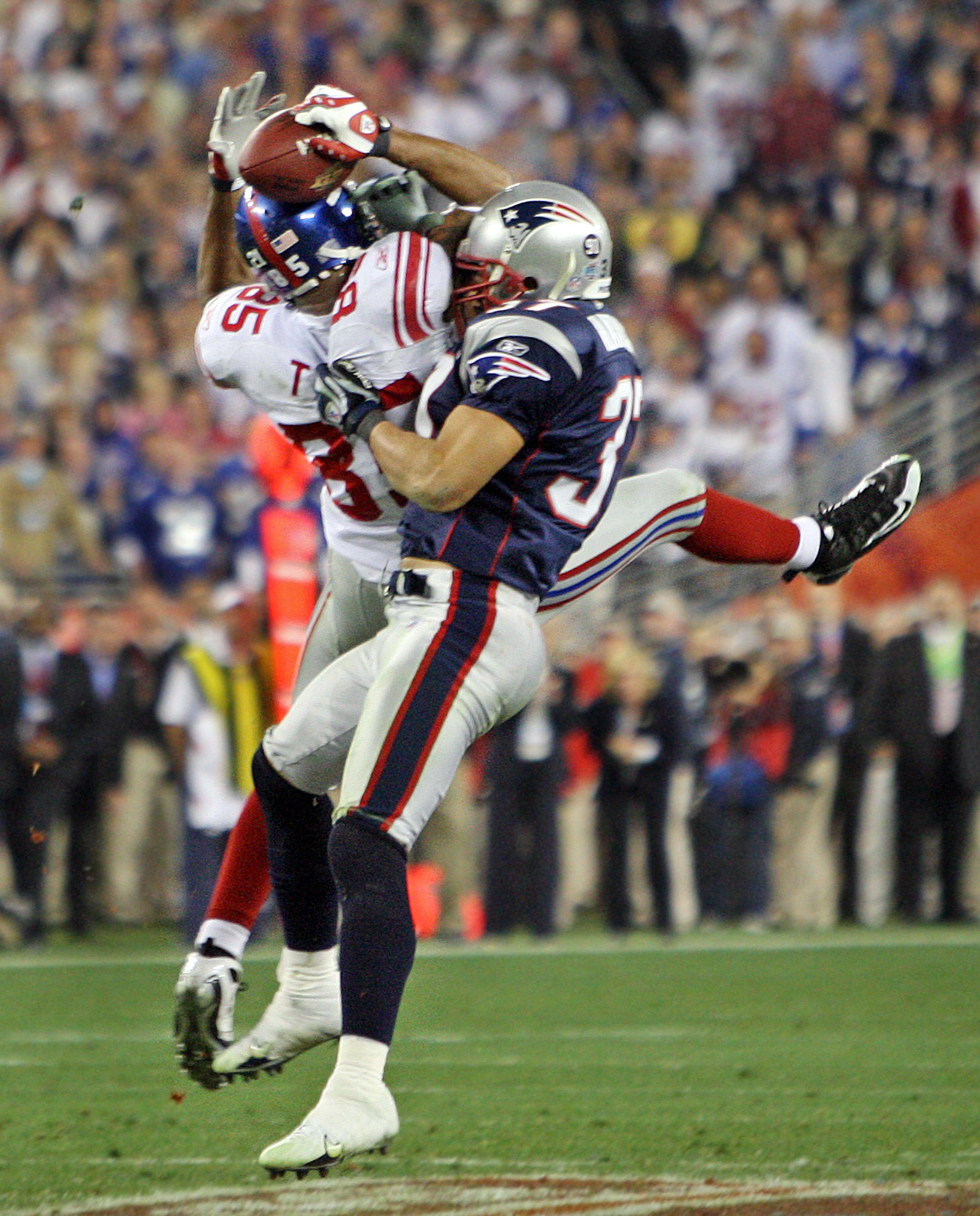 Super Bowl XLII: New England Patriots Vs. New York Giants