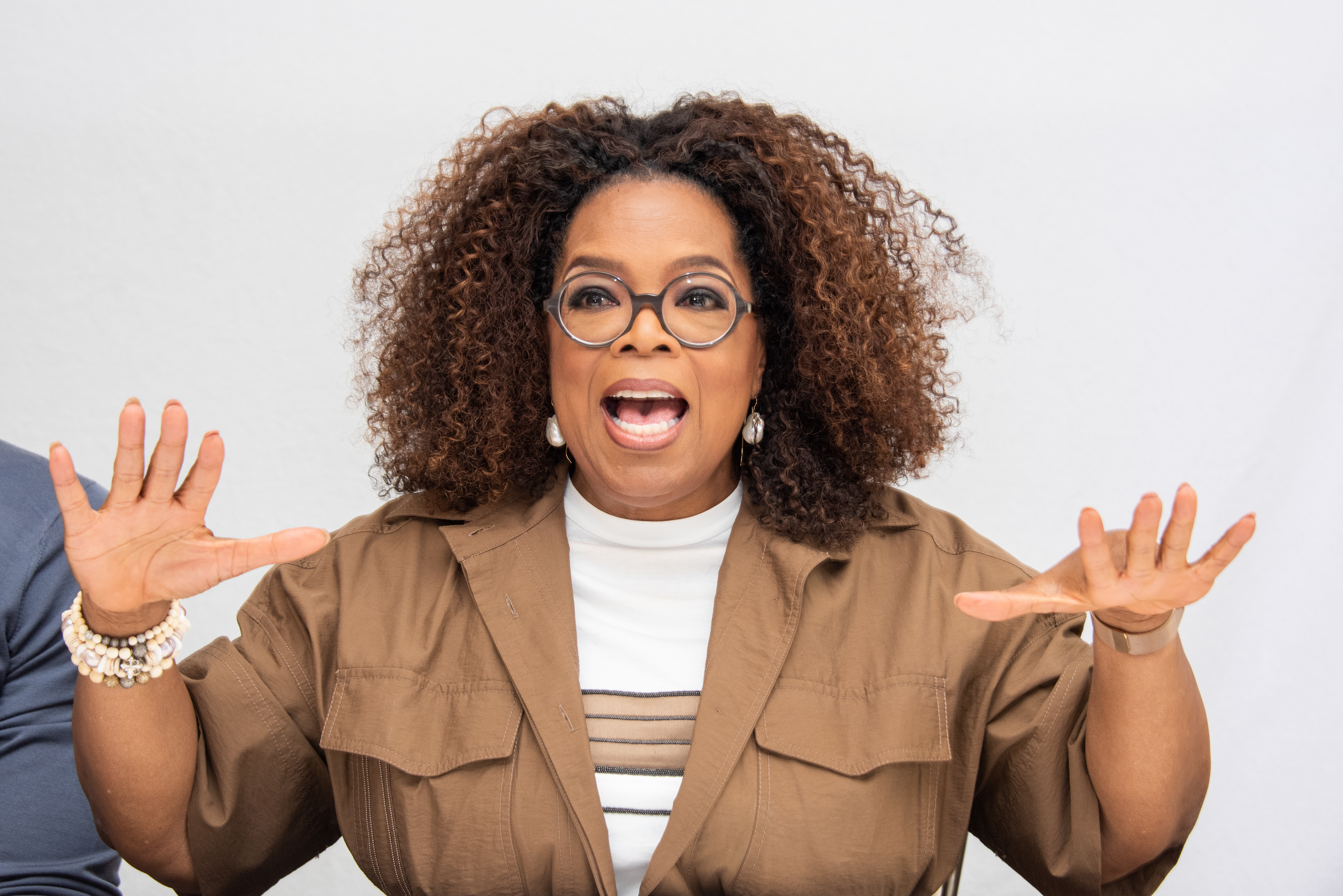 Oprah Winfrey loves London's fish and chips