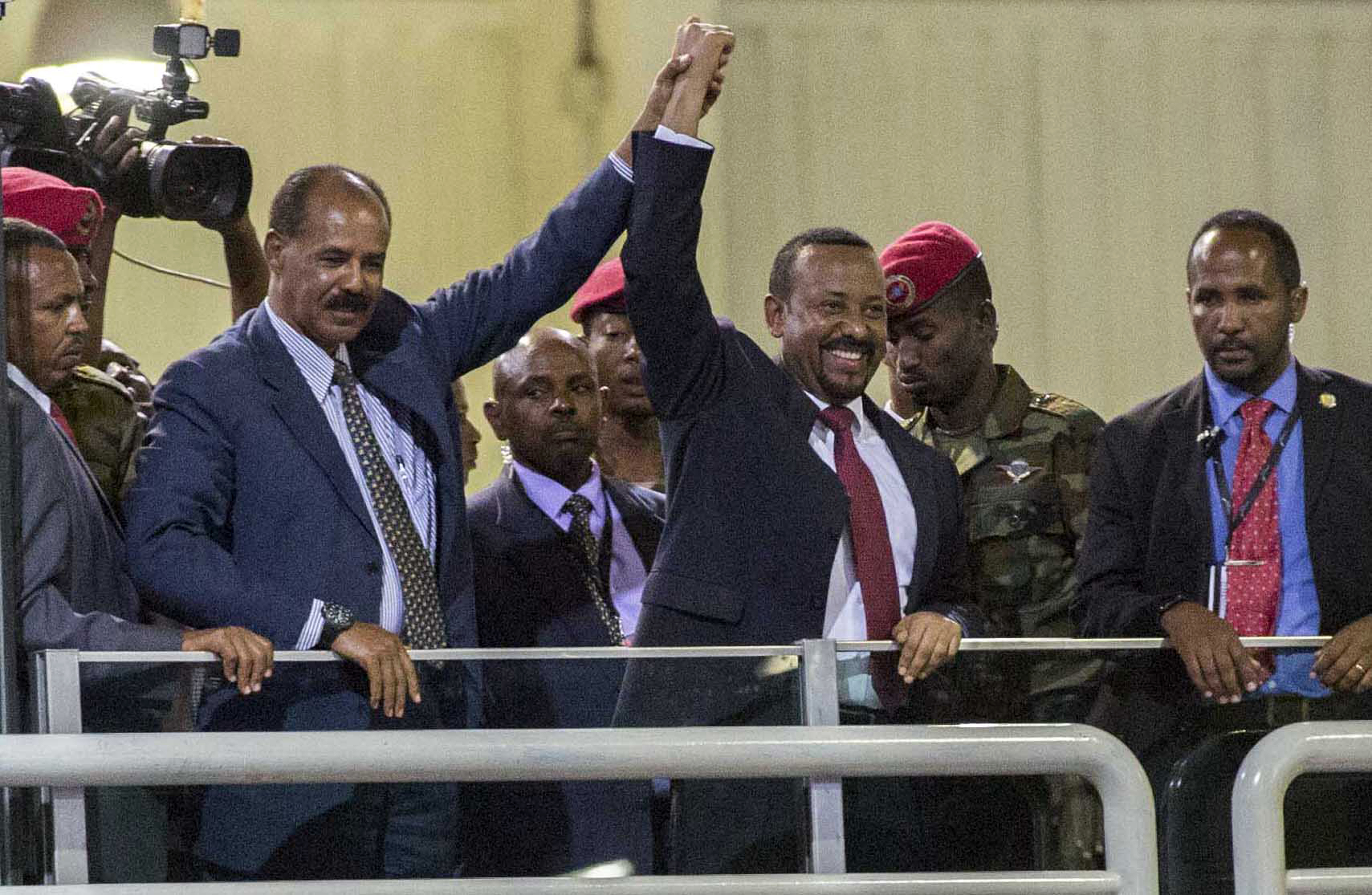 The 2019 Nobel Peace Prize was given to Ethiopian Prime Minister Abiy Ahmed on Friday Oct. 11, 2019.