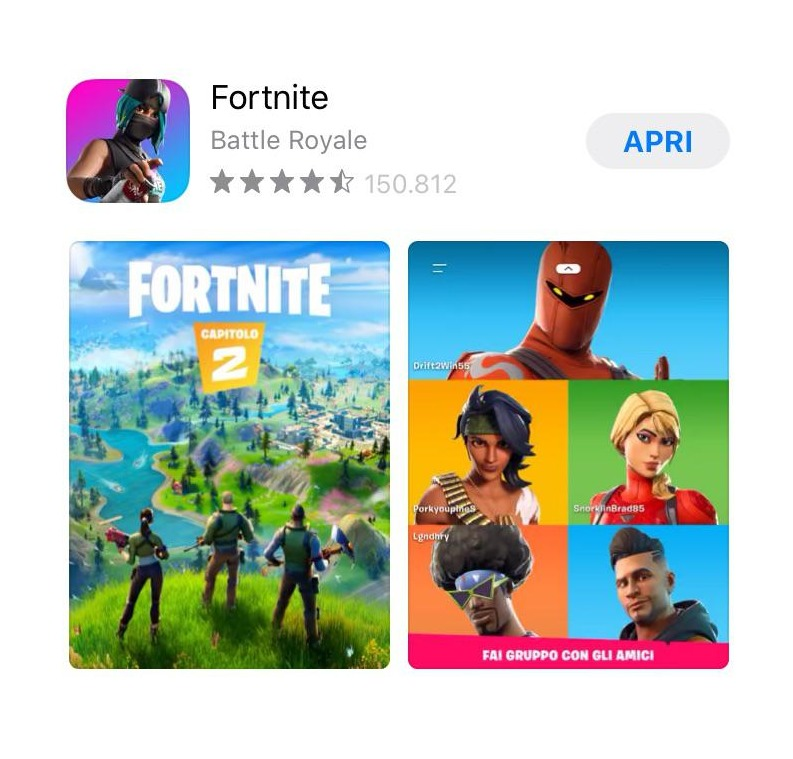 Fortnite 'Chapter 2' may have just leaked via the App Store