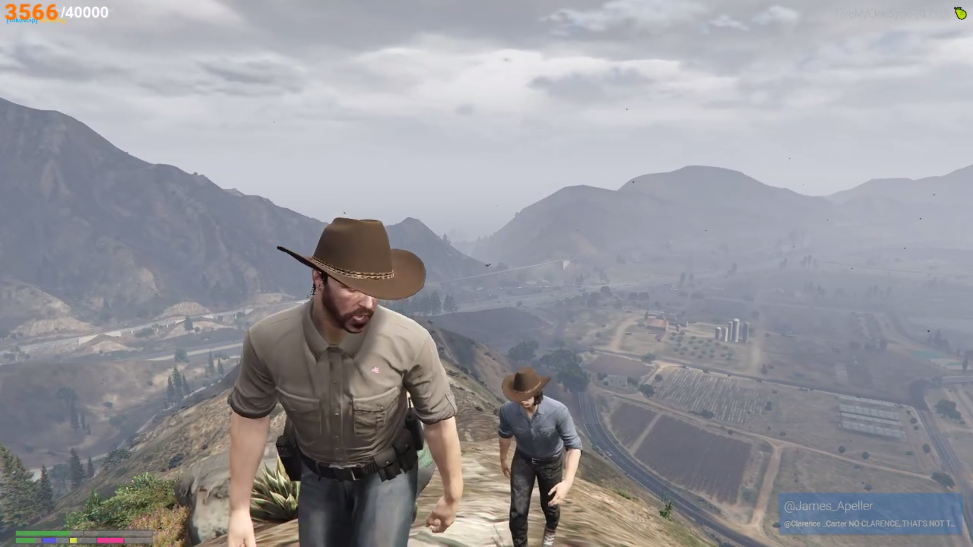 Walking Dead star revived his character on a GTA 5 role-playing server