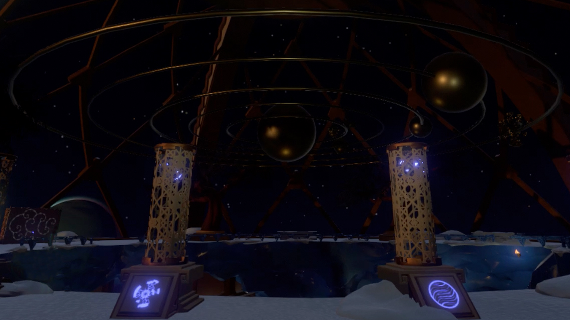 Outer Wilds guide to the Gravity Cannon and Southern Observatory on Brittle Hollow